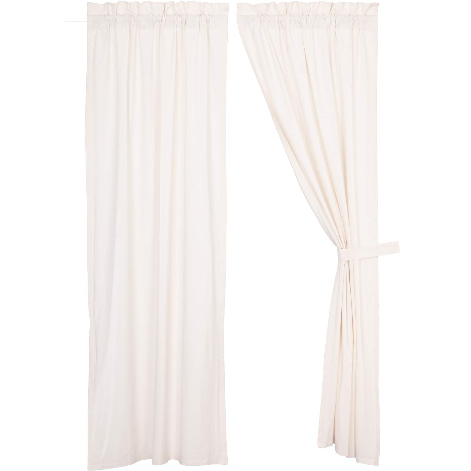 Amazon: Vhc Brands Farmhouse Curtains Simple Life Rod Within Well Known Rod Pocket Cotton Linen Blend Solid Color Flax Kitchen Curtains (View 12 of 20)