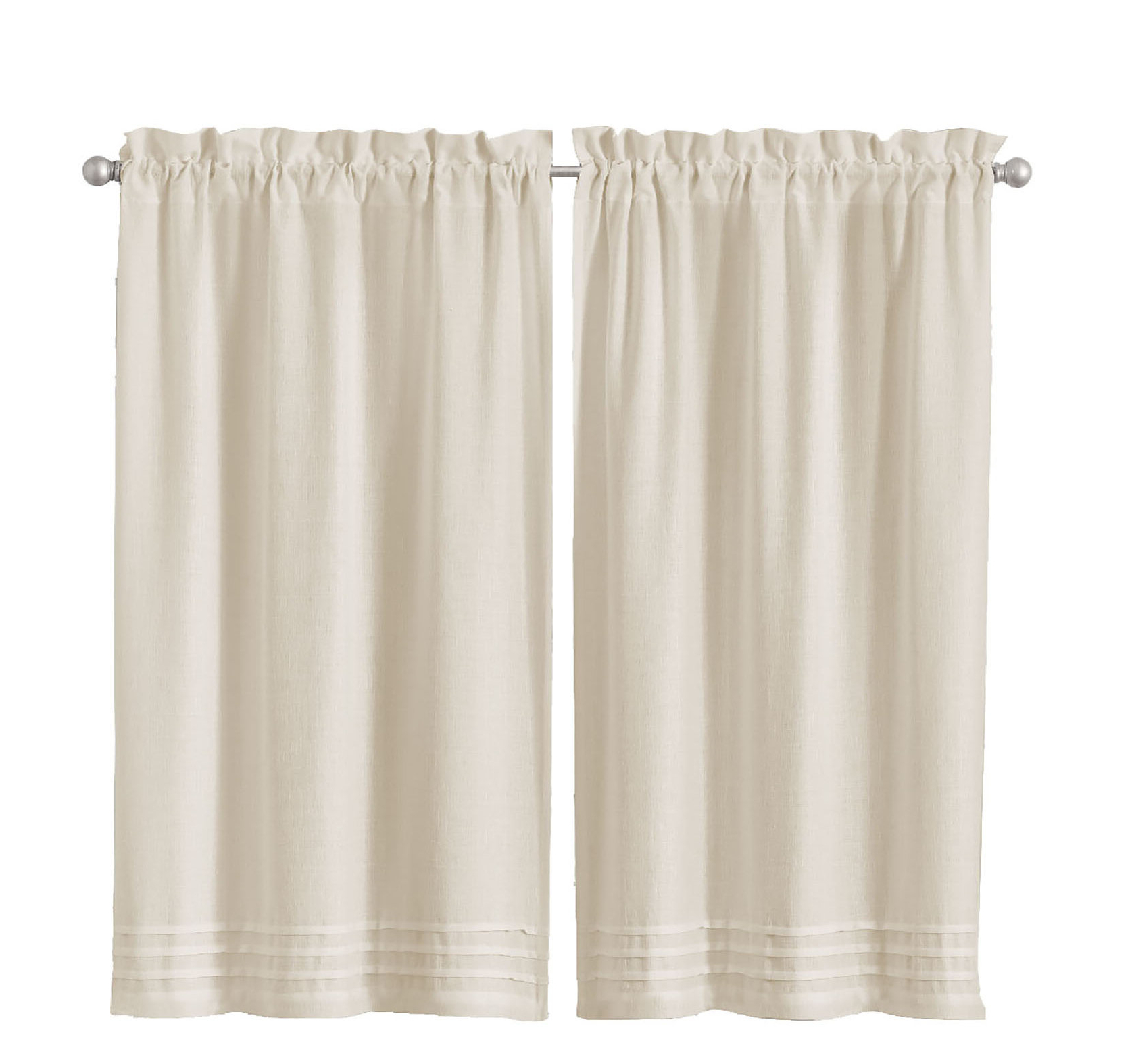 Aon Window Pleated Cafe Curtain For Well Known Luxury Collection Kitchen Tiers (View 17 of 20)