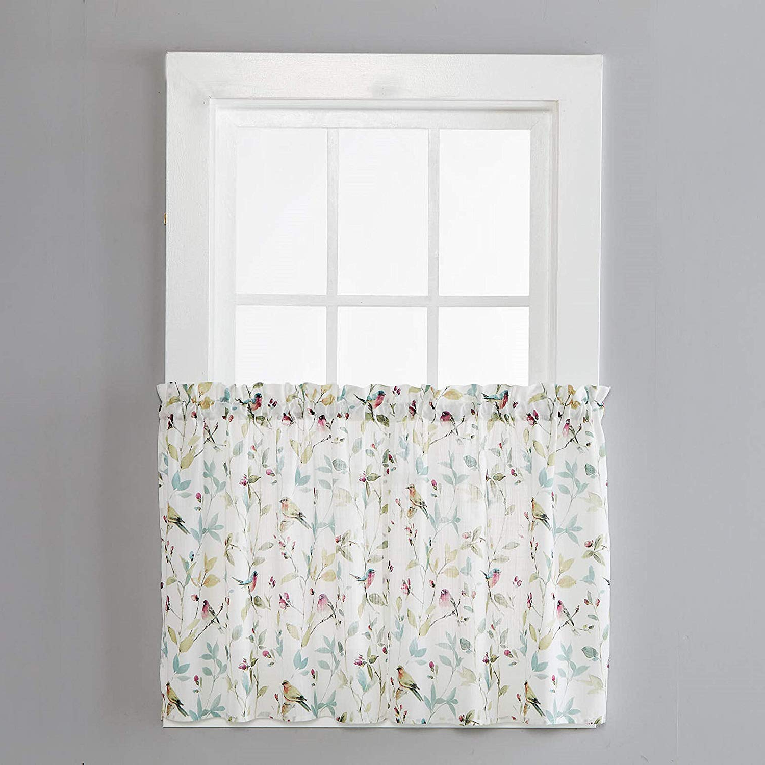 Featured Photo of Aviary Window Curtains