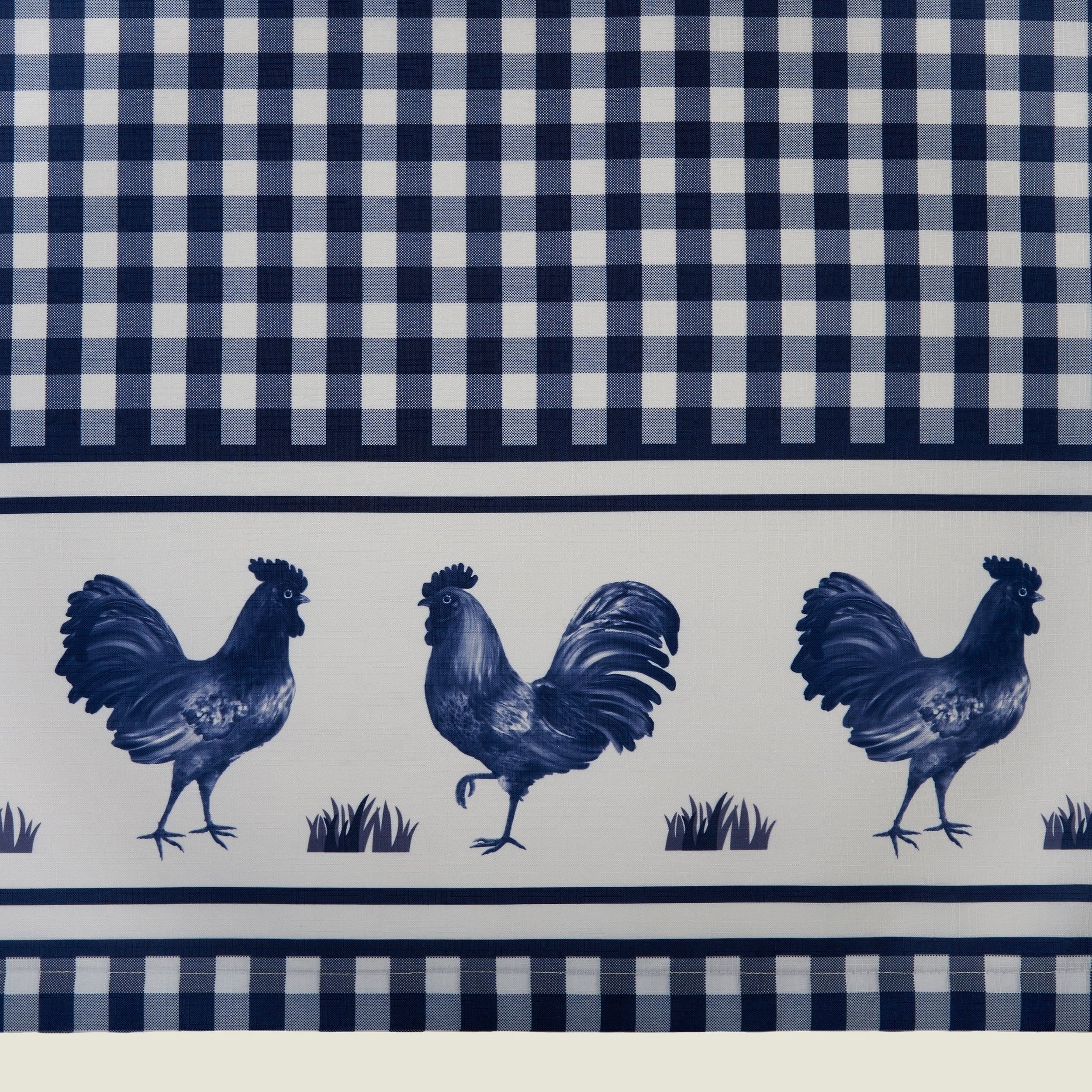 Barnyard Window Curtain Tier Pair And Valance Set Inside Most Popular Barnyard Buffalo Check Rooster Window Valances (View 9 of 20)