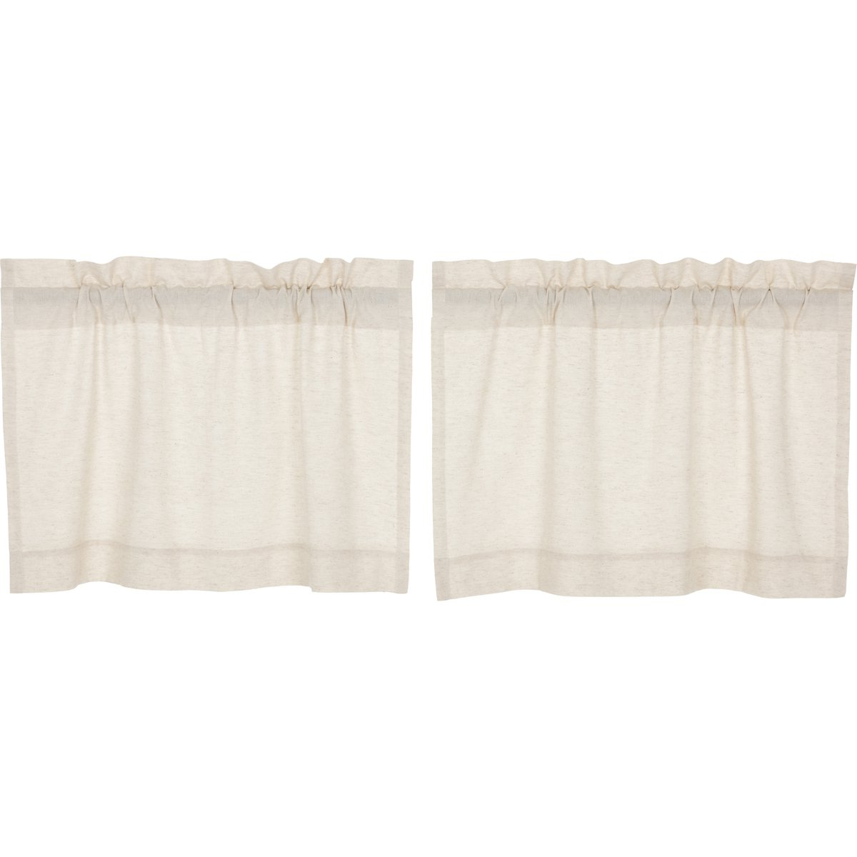 Best And Newest Amazon: Vhc Brands Farmhouse Window Simple Life Flax Regarding Simple Life Flax Tier Pairs (View 2 of 20)