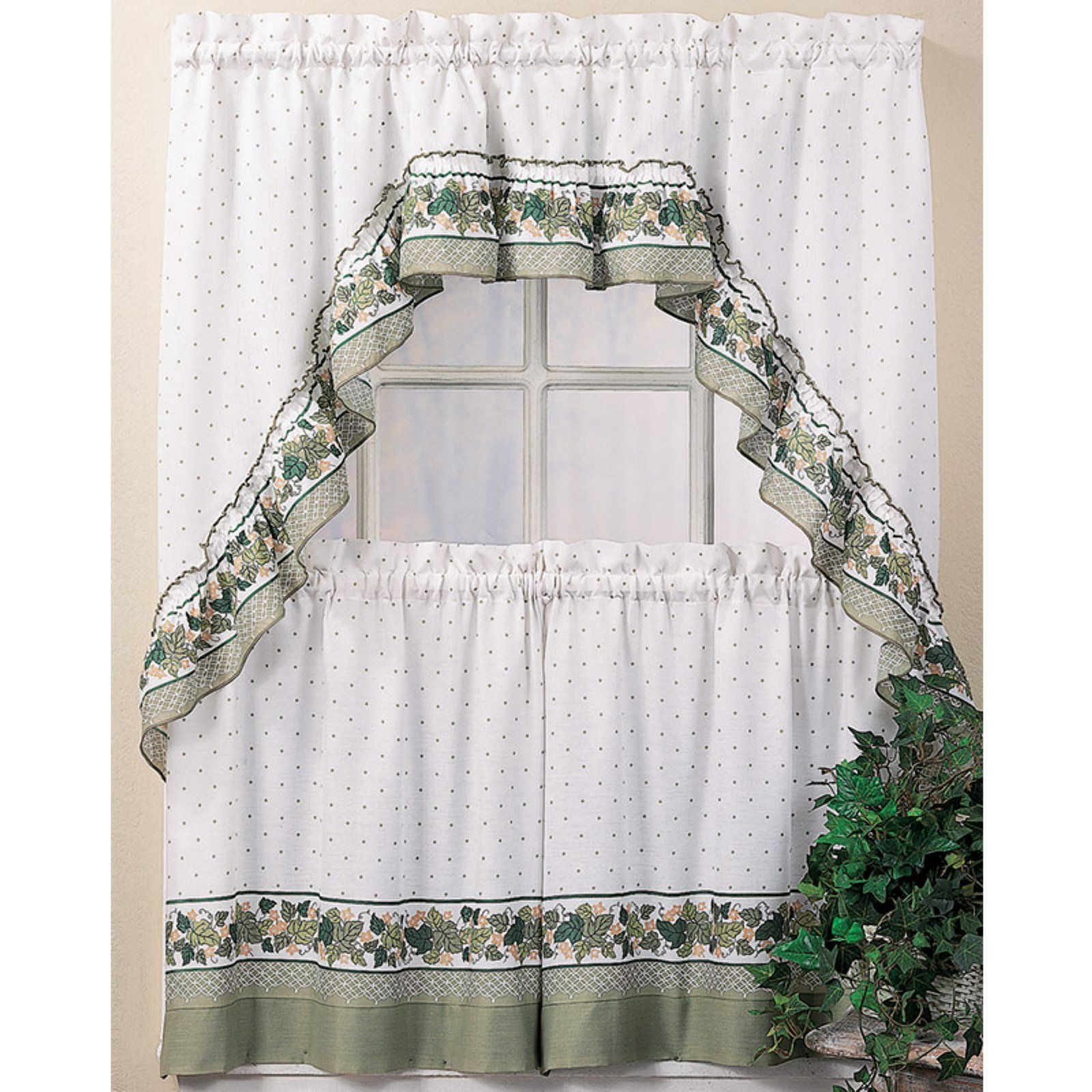 Featured Photo of Cottage Ivy Curtain Tiers