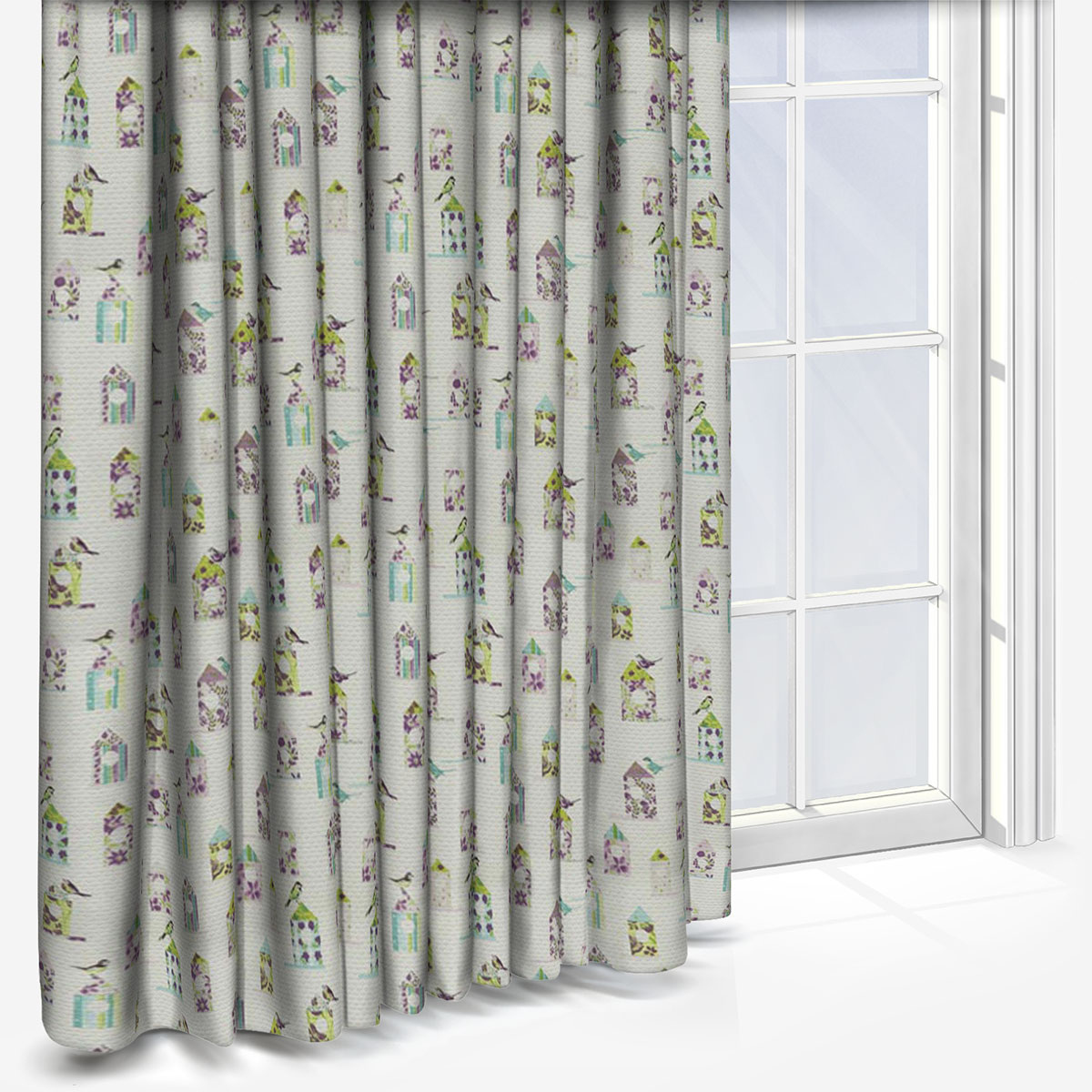 Best And Newest Prestigious Textiles Aviary Lavender Within Aviary Window Curtains (View 6 of 20)