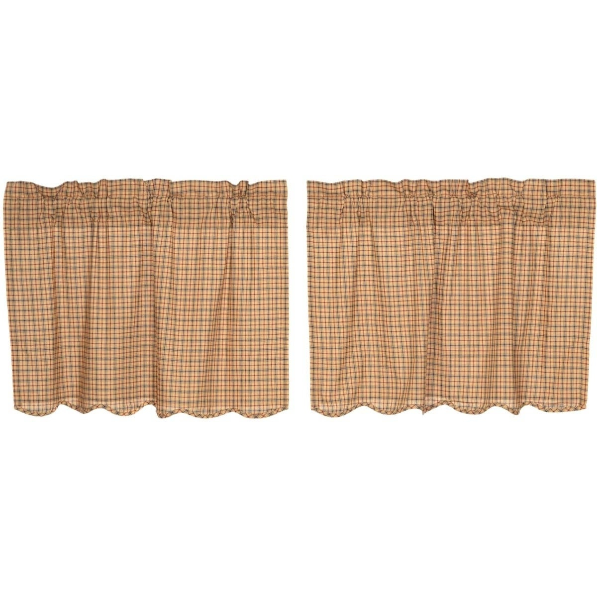 Buy Red Curtain Tiers Online At Overstock (View 12 of 20)