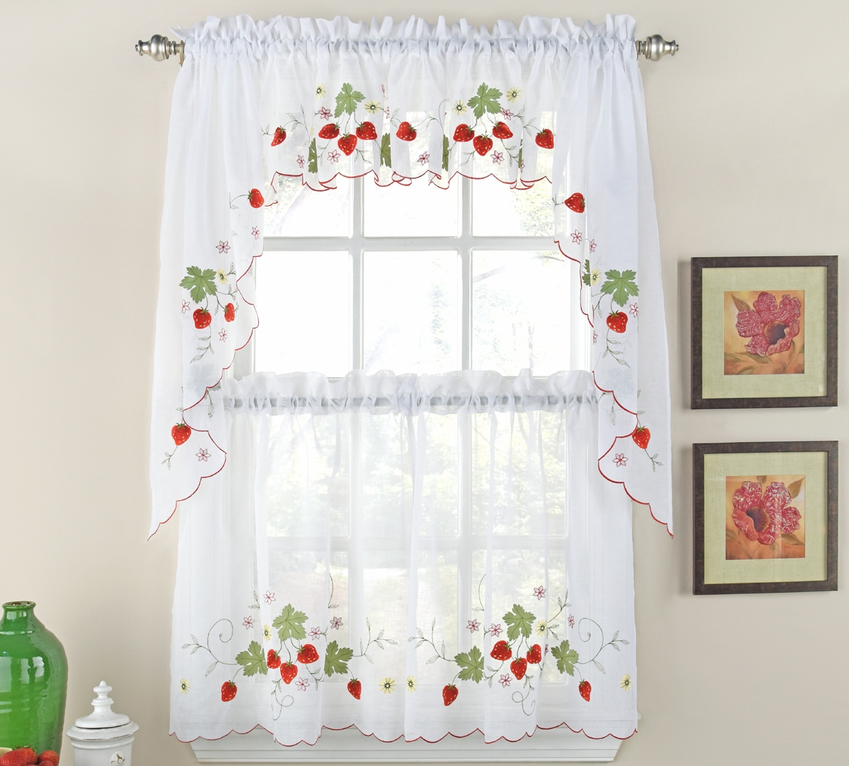 Classic Kitchen Curtain Sets Inside Best And Newest Designer Kitchen Curtains – Thecurtainshop (View 6 of 20)