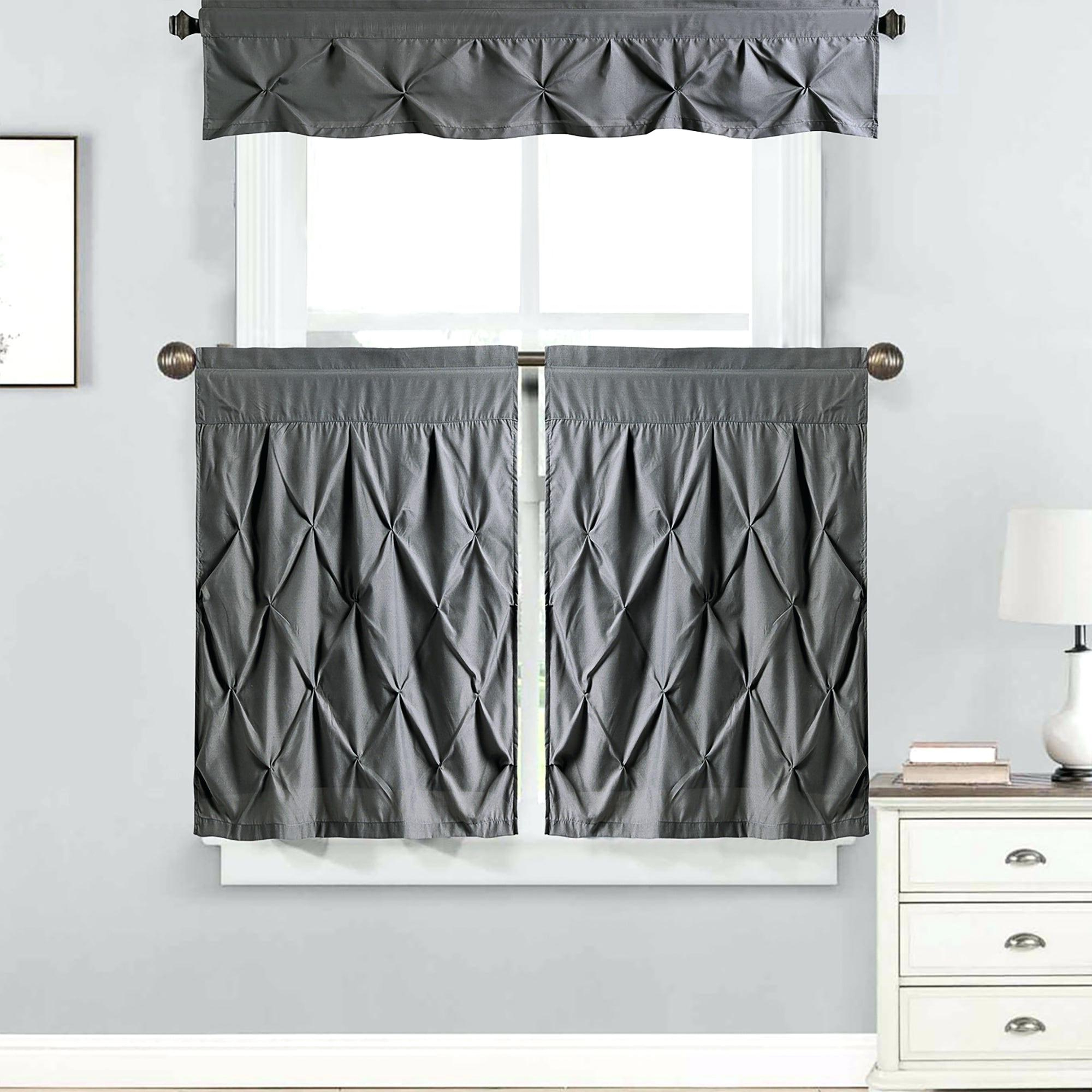 Curtain Sets With Valance – Mnkskin With Well Known Forest Valance And Tier Pair Curtains (View 19 of 20)
