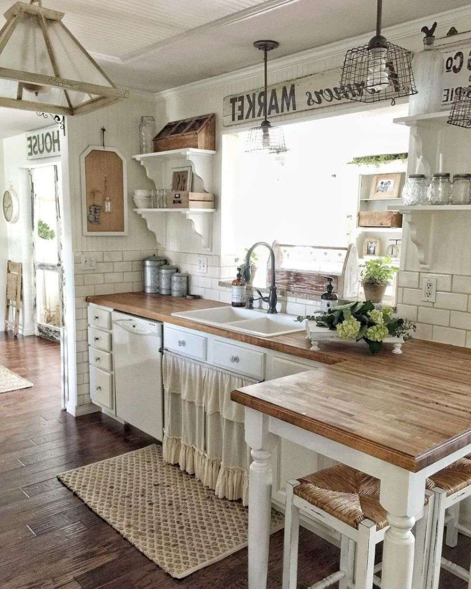Curtains Decorating Kitchen Good Style Rustic Decoration Within Most Current Farmhouse Kitchen Curtains (View 2 of 20)
