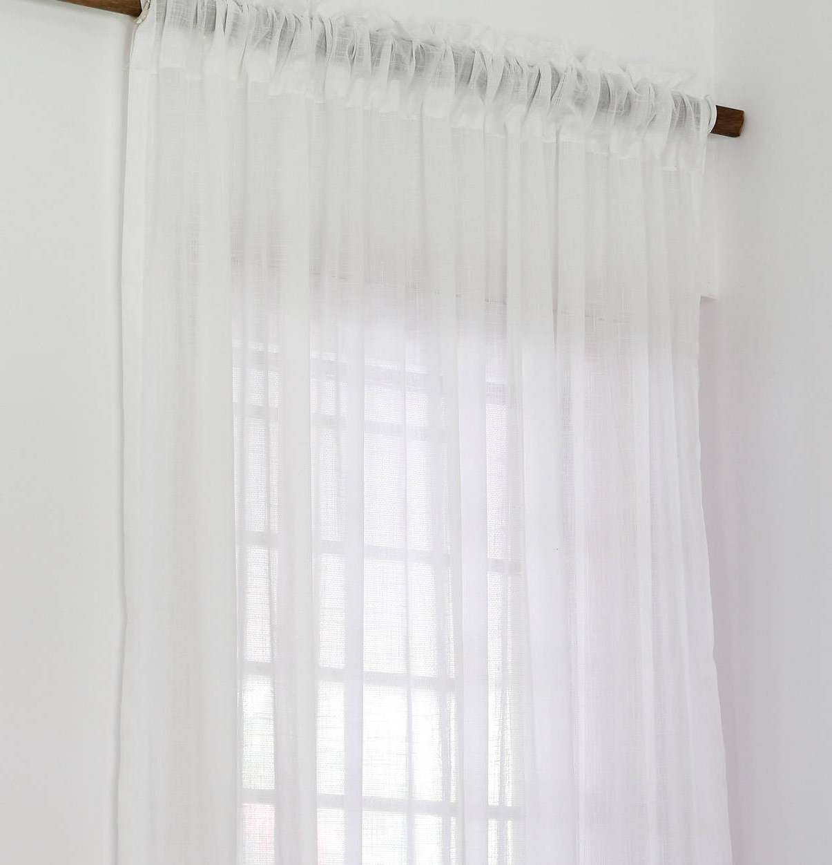 Decorating White Sheer Cotton Curtain Surprising Valance Throughout Favorite Farmhouse Stripe Kitchen Tier Pairs (View 5 of 20)