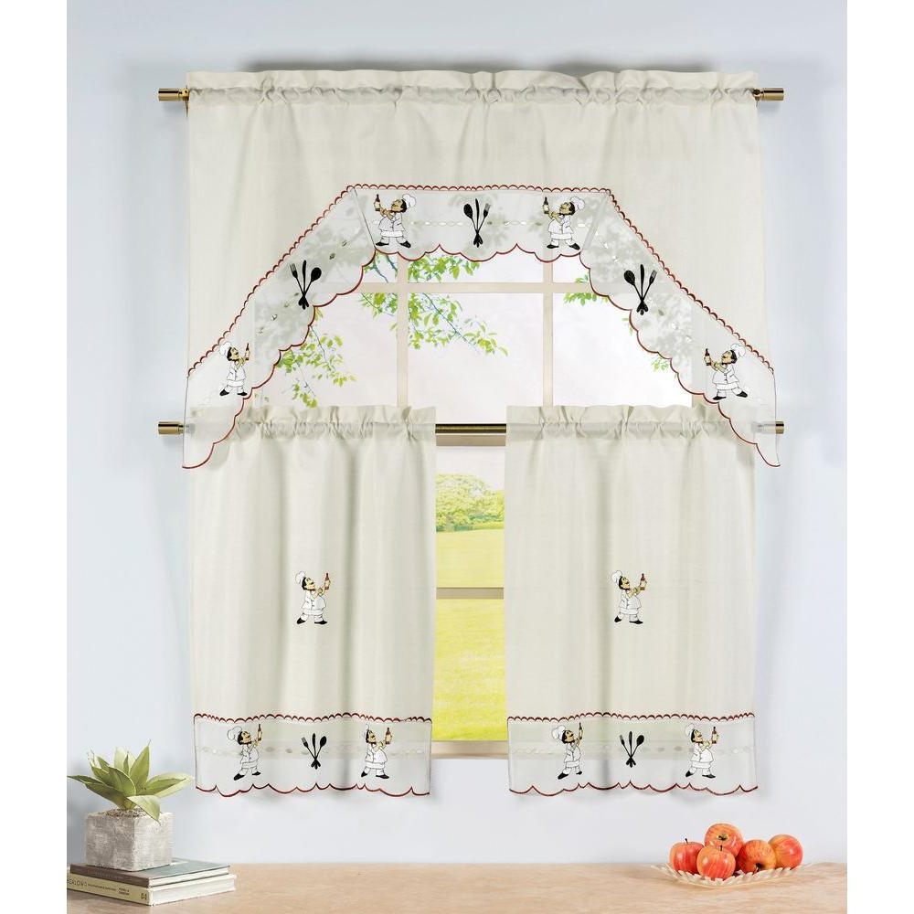 Featured Photo of Kitchen Curtain Tiers