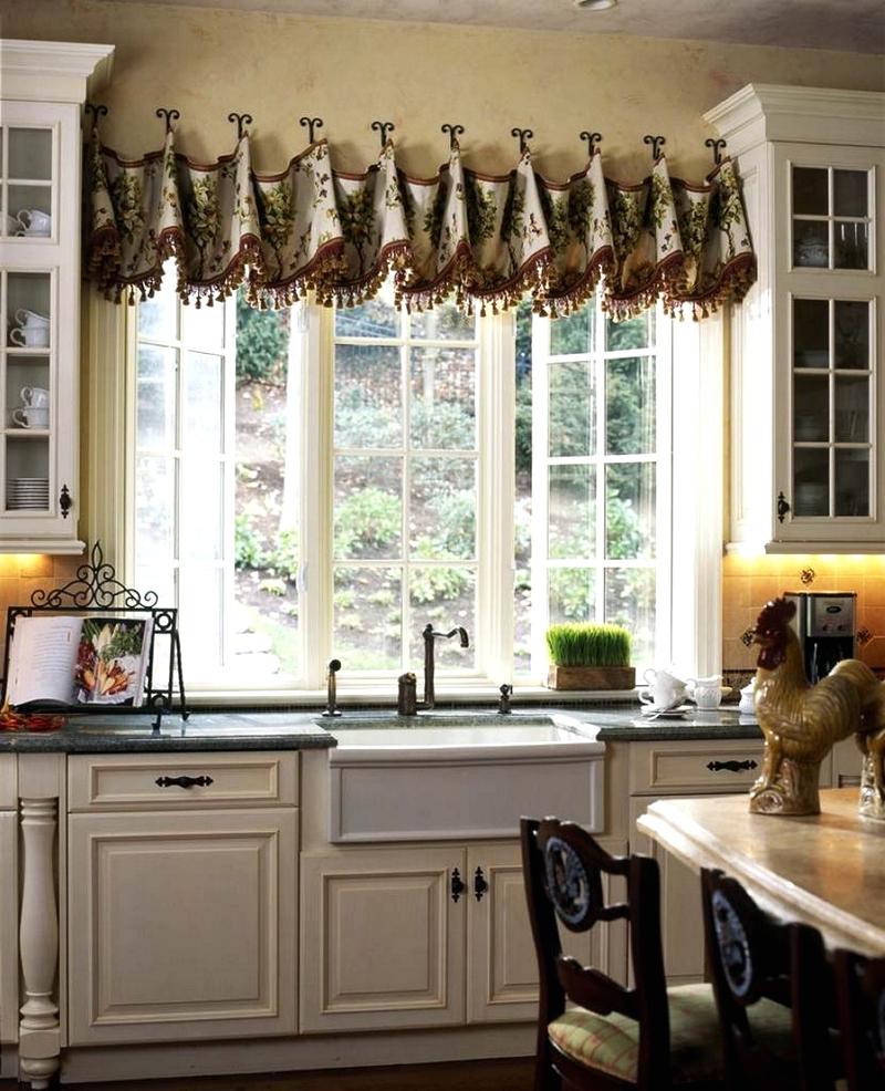 Farmhouse Kitchen Curtains Regarding 2021 Farmhouse Kitchen Curtains (View 7 of 20)