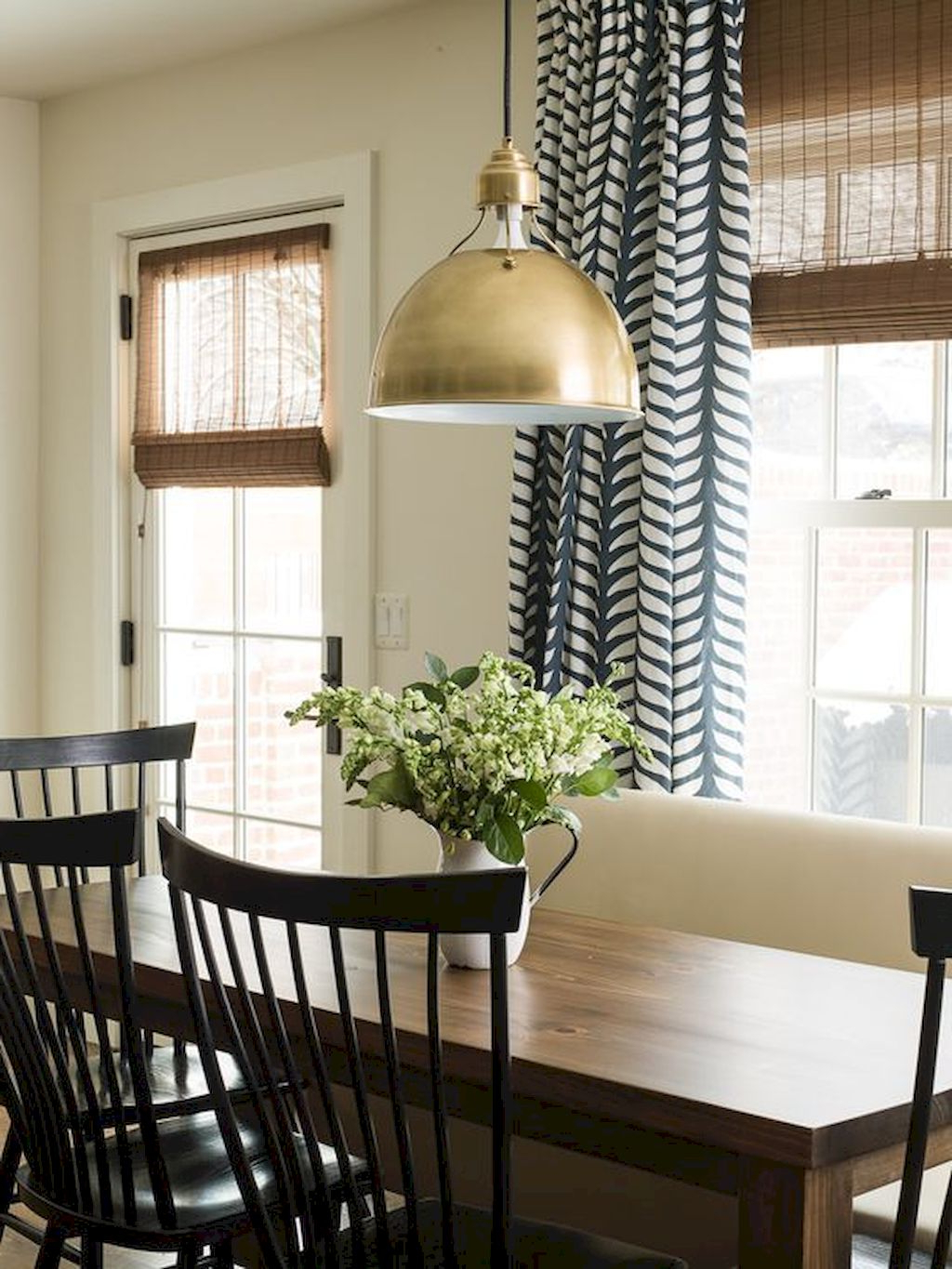 Farmhouse Kitchen Curtains With Regard To Fashionable Pretty Farmhouse Kitchen Curtains — Fanpageanalytics Home (Gallery 20 of 20)