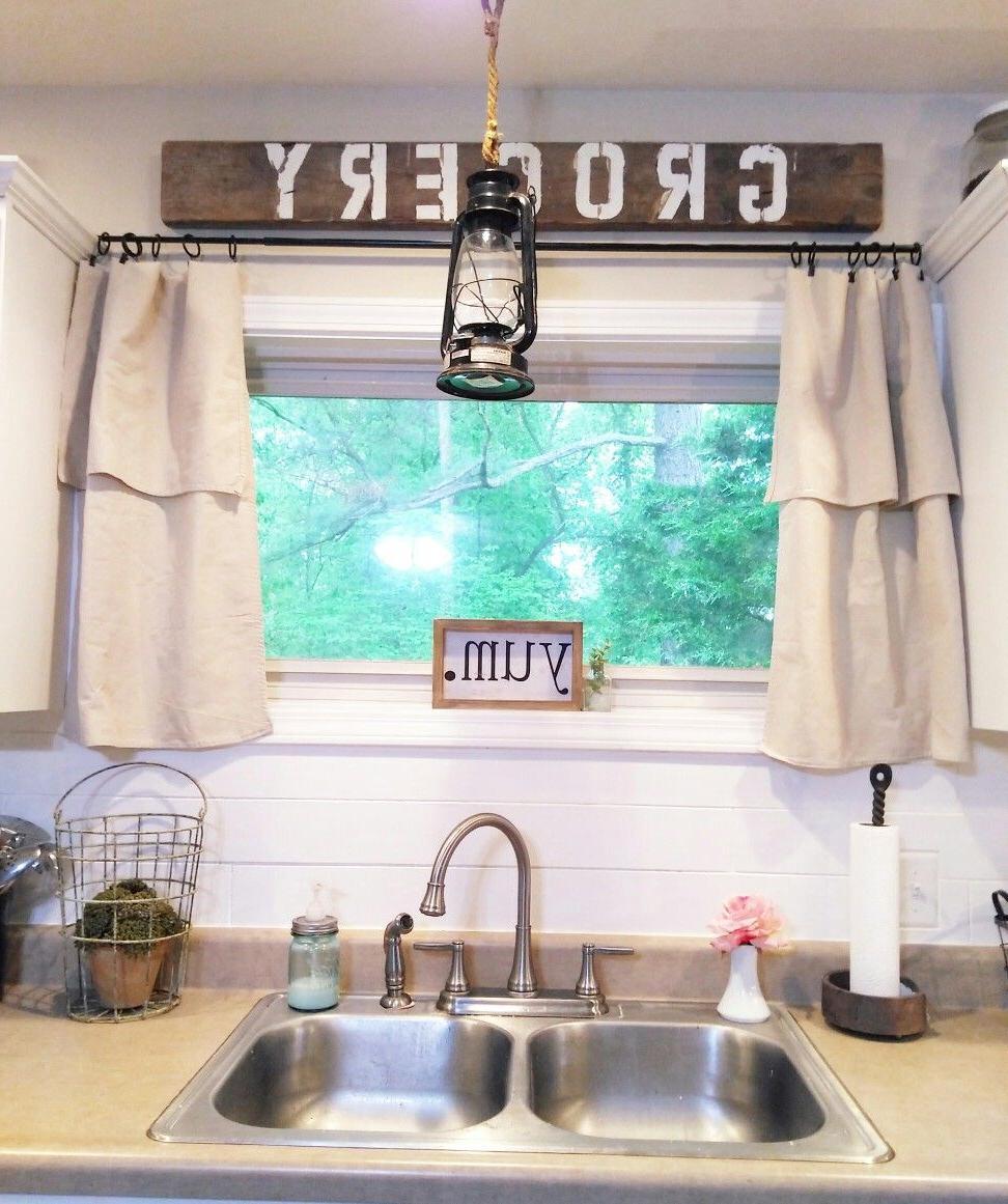 Featured Photo of Farmhouse Kitchen Curtains
