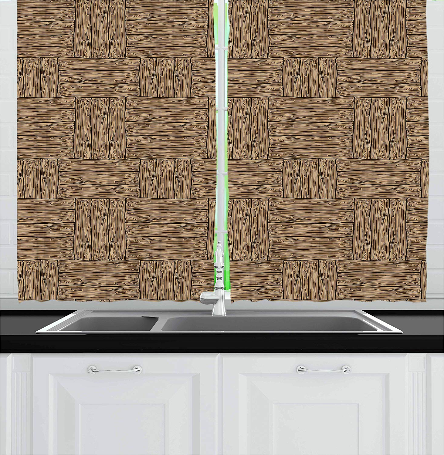 Featured Photo of Rustic Kitchen Curtains