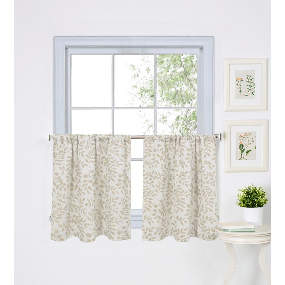 Fashionable Kitchen Window Tier – Martinique With Regard To Hudson Pintuck Window Curtain Valances (View 14 of 20)