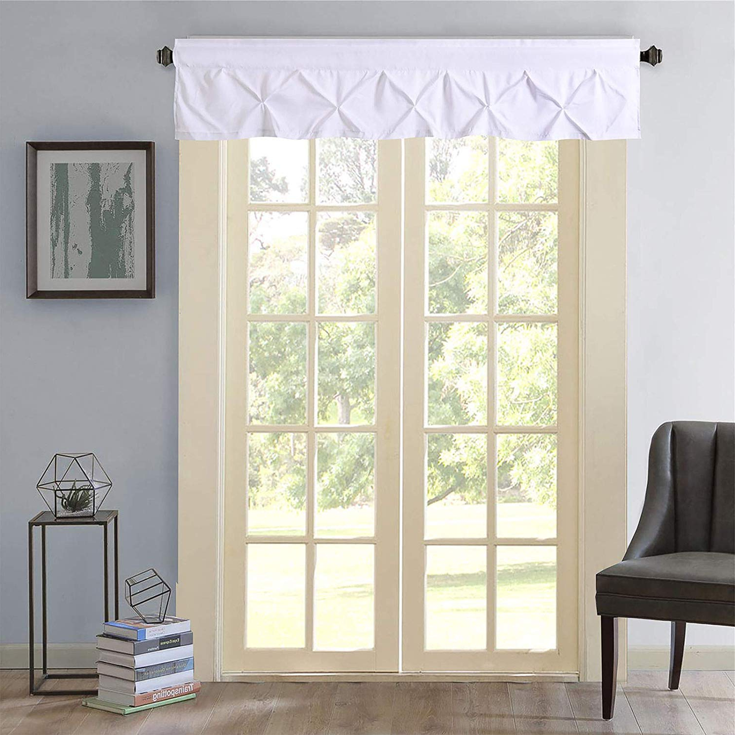 Featured Photo of Hudson Pintuck Window Curtain Valances
