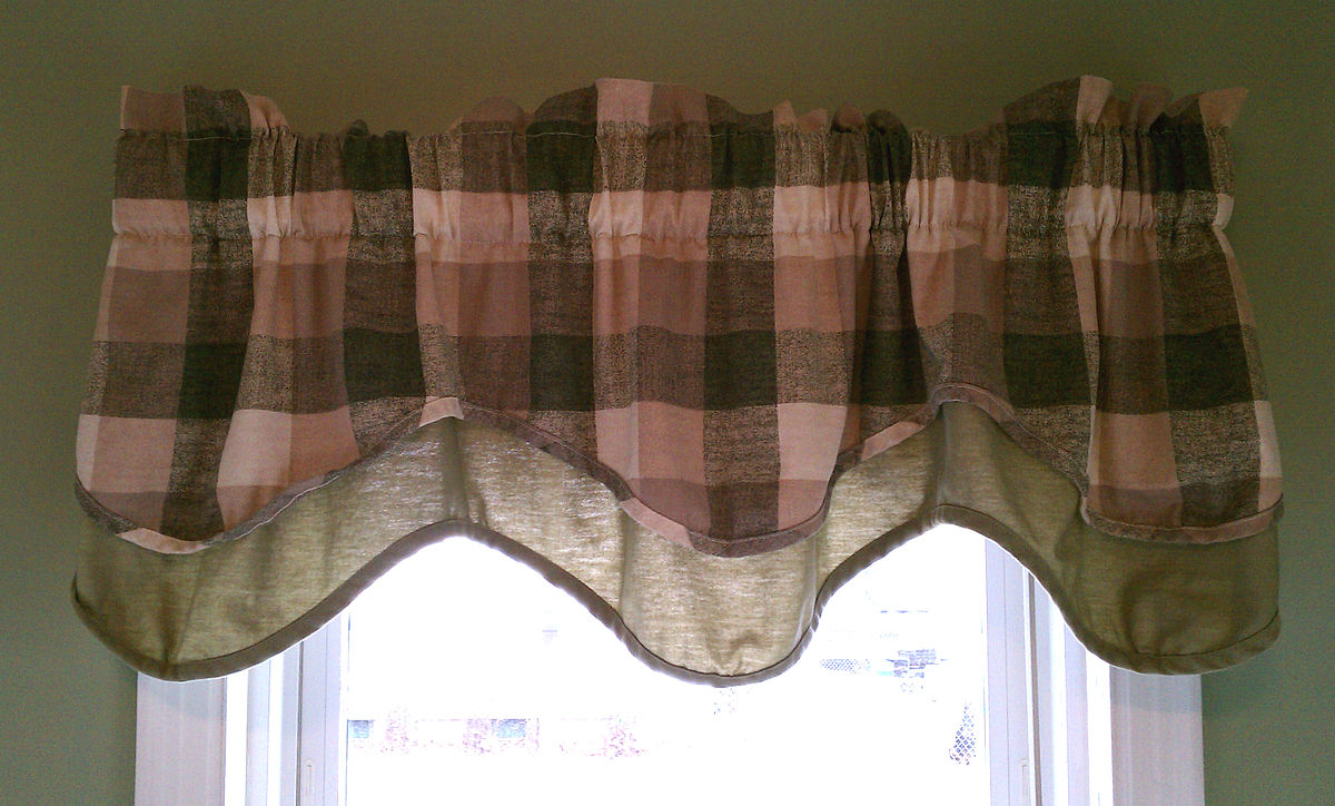 Favorite Tailored Toppers With Valances In Window Valance – Wikipedia (View 20 of 20)