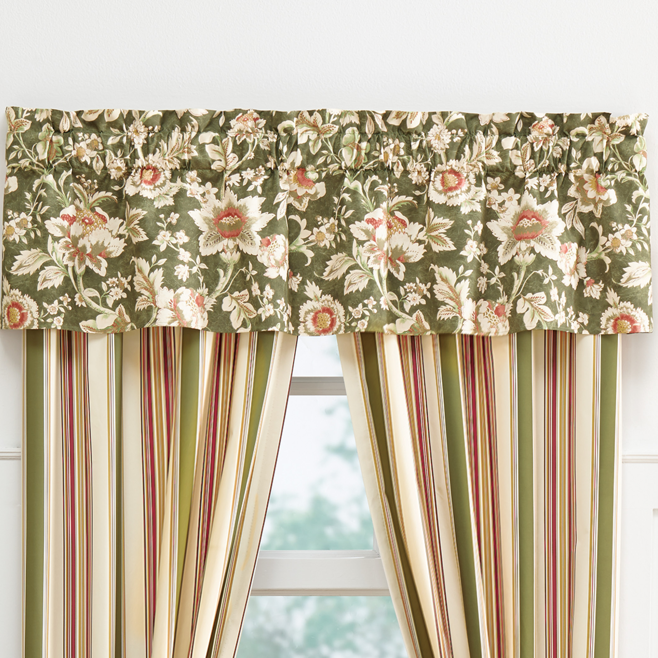 Floral Pattern Window Valances Regarding Most Up To Date Floral Concord Window Valance (View 13 of 20)