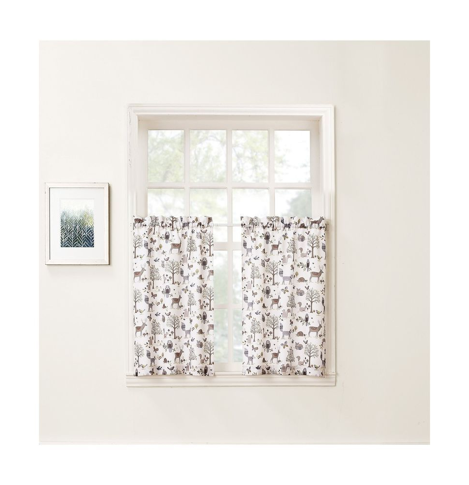 Featured Photo of Forest Valance And Tier Pair Curtains