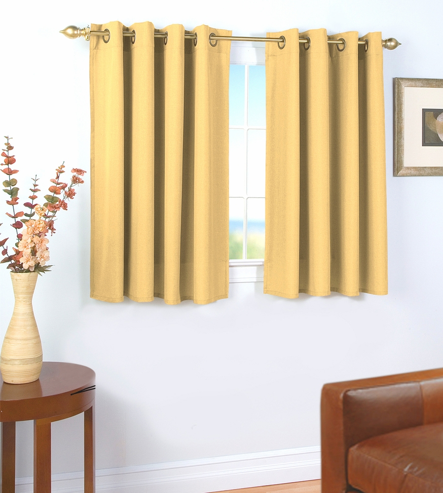 Glasgow Grommet Curtain With Wand Inside Trendy Glasgow Curtain Tier Sets (View 18 of 20)