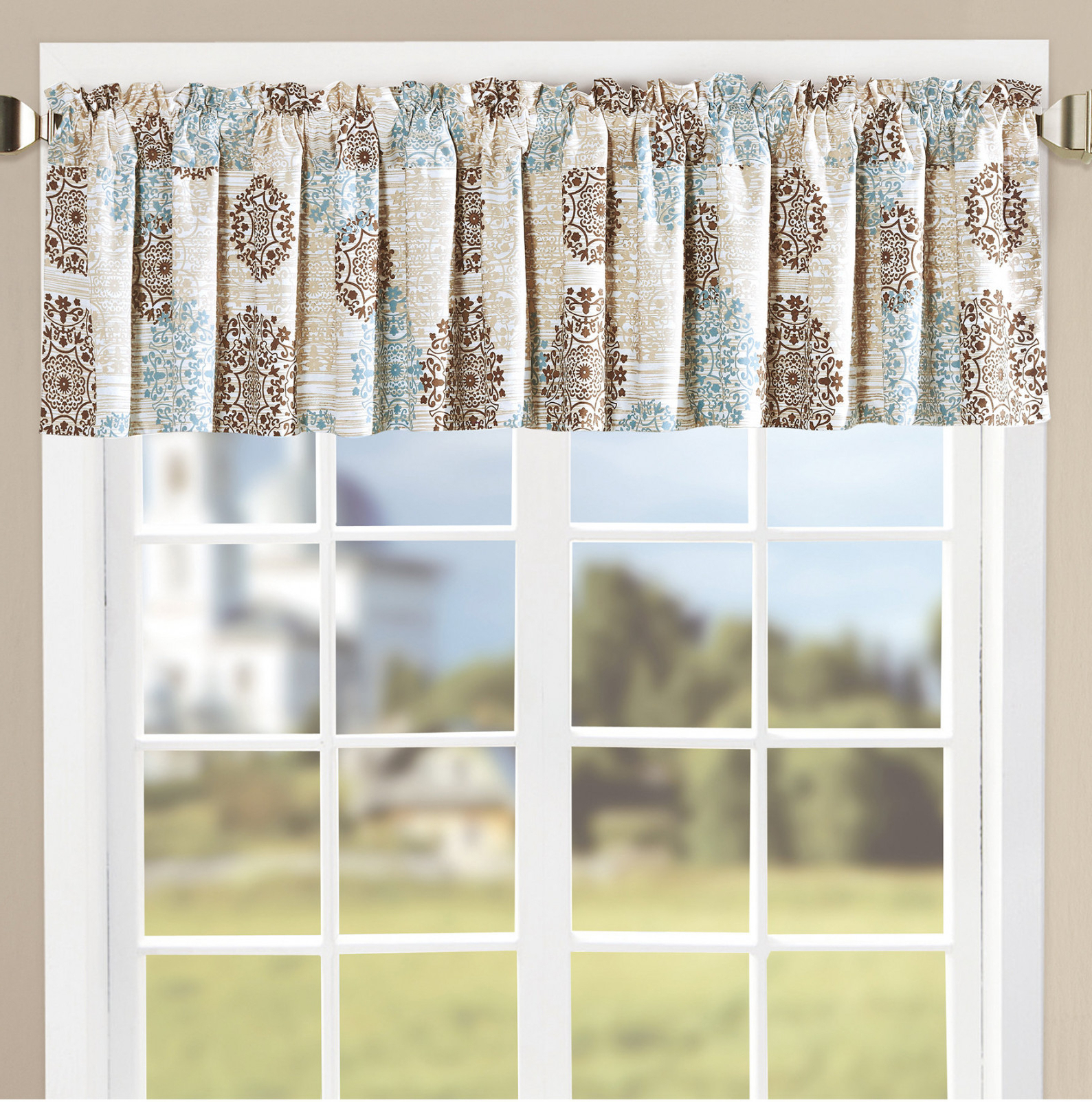 Joss Within Favorite Medallion Window Curtain Valances (View 18 of 20)