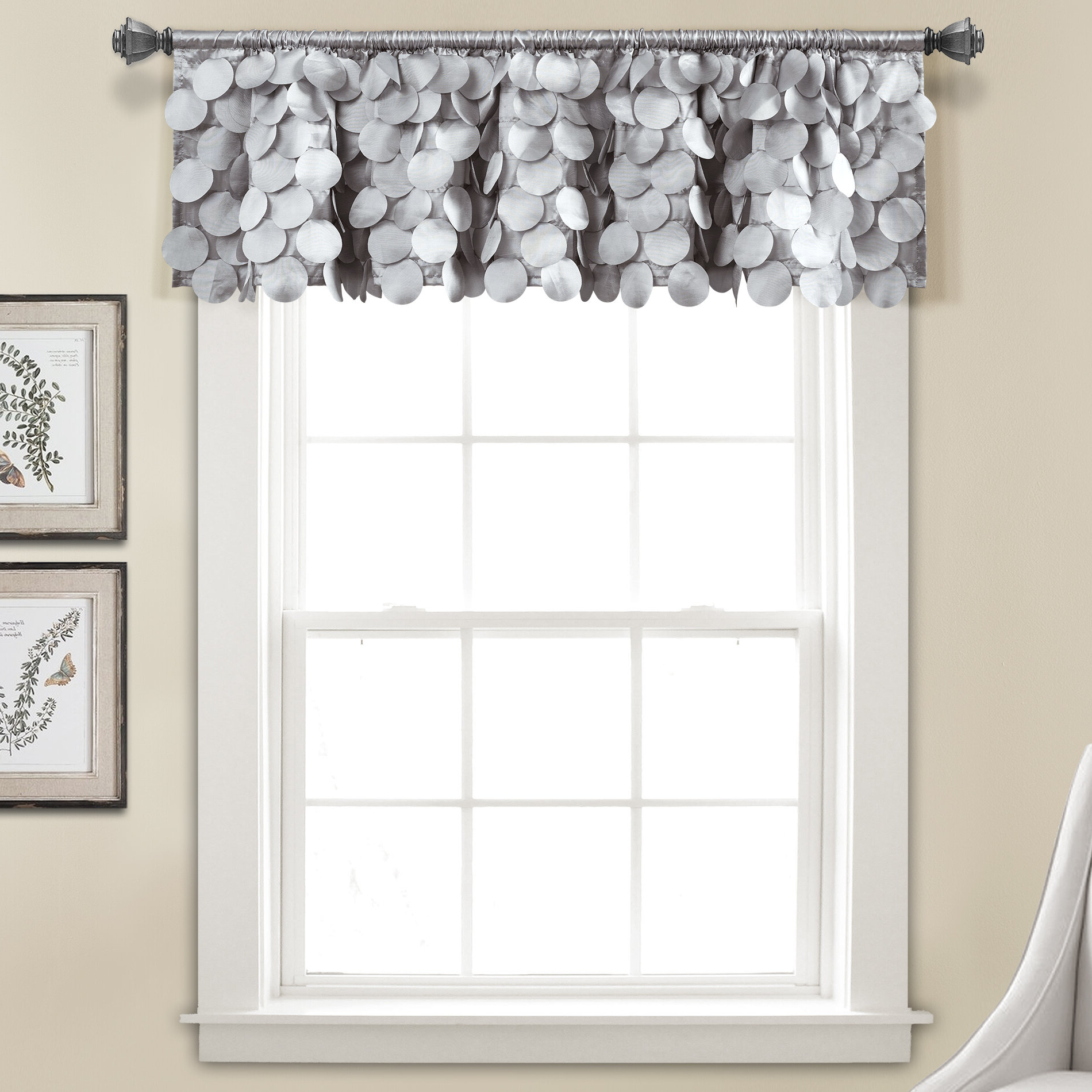 Luxury Light Filtering Straight Curtain Valances Regarding Fashionable Willa Arlo Interiors Willingham Window Valance & Reviews (View 9 of 20)