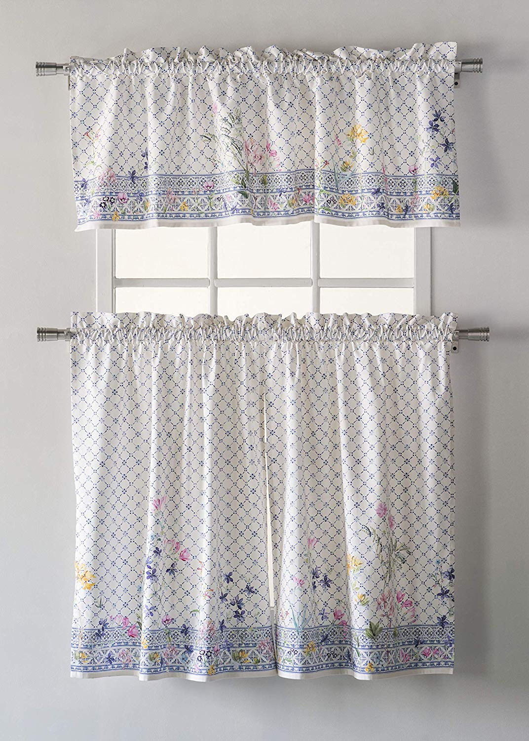 [%Maison D' Hermine Faïence 100% Cotton Kitchen Curtain Sets – 2 Tiers (28  Inch36 Inch) And 1 Valance (56 Inch18 Inch) Within Best And Newest Classic Kitchen Curtain Sets|Classic Kitchen Curtain Sets With Current Maison D' Hermine Faïence 100% Cotton Kitchen Curtain Sets – 2 Tiers (28  Inch36 Inch) And 1 Valance (56 Inch18 Inch)|Most Recently Released Classic Kitchen Curtain Sets Within Maison D' Hermine Faïence 100% Cotton Kitchen Curtain Sets – 2 Tiers (28  Inch36 Inch) And 1 Valance (56 Inch18 Inch)|Current Maison D' Hermine Faïence 100% Cotton Kitchen Curtain Sets – 2 Tiers (28  Inch36 Inch) And 1 Valance (56 Inch18 Inch) Intended For Classic Kitchen Curtain Sets%] (View 1 of 20)