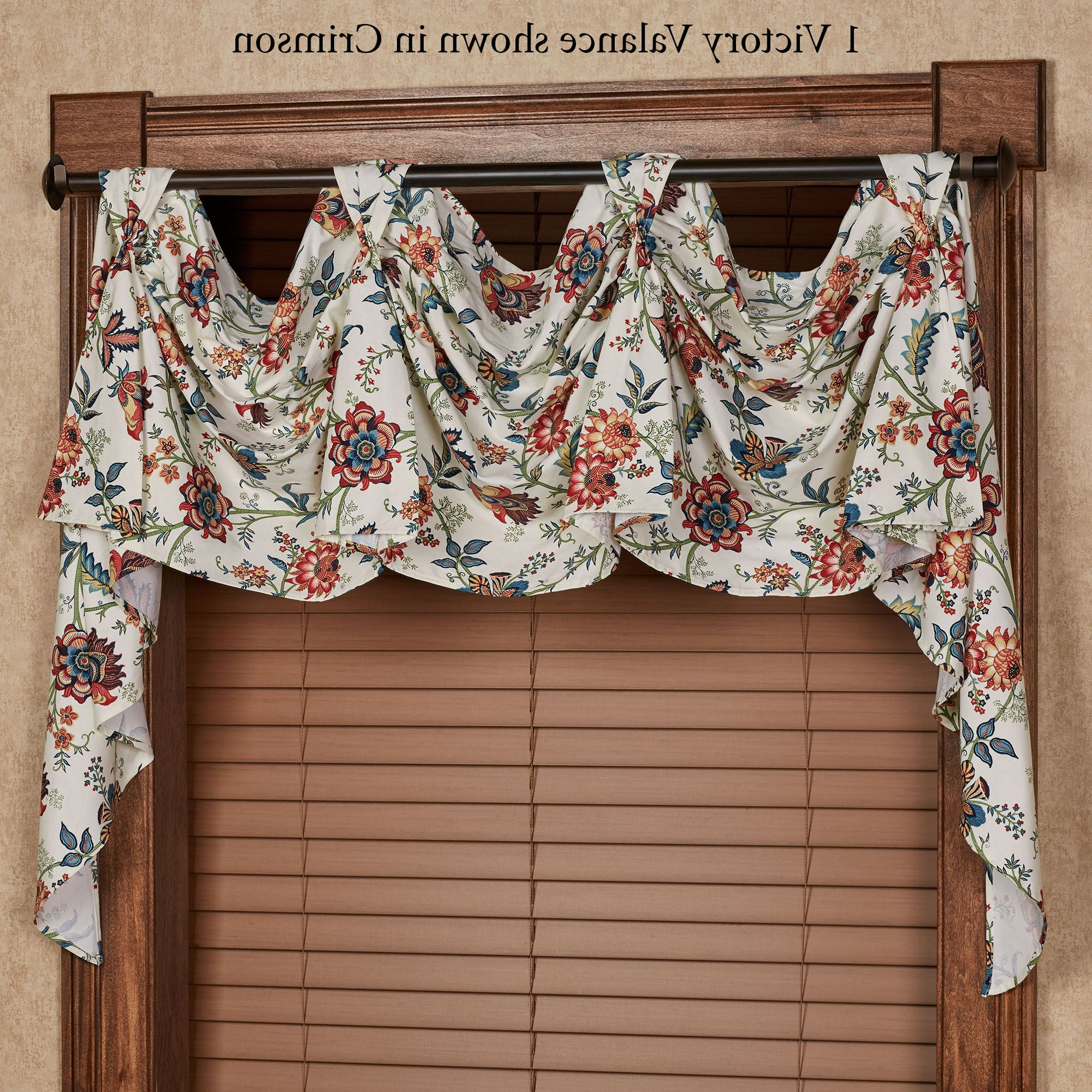 Medallion Window Curtain Valances For Trendy Set Bay For Valances Lace Valance Curtains Diy Pattern (Gallery 15 of 20)
