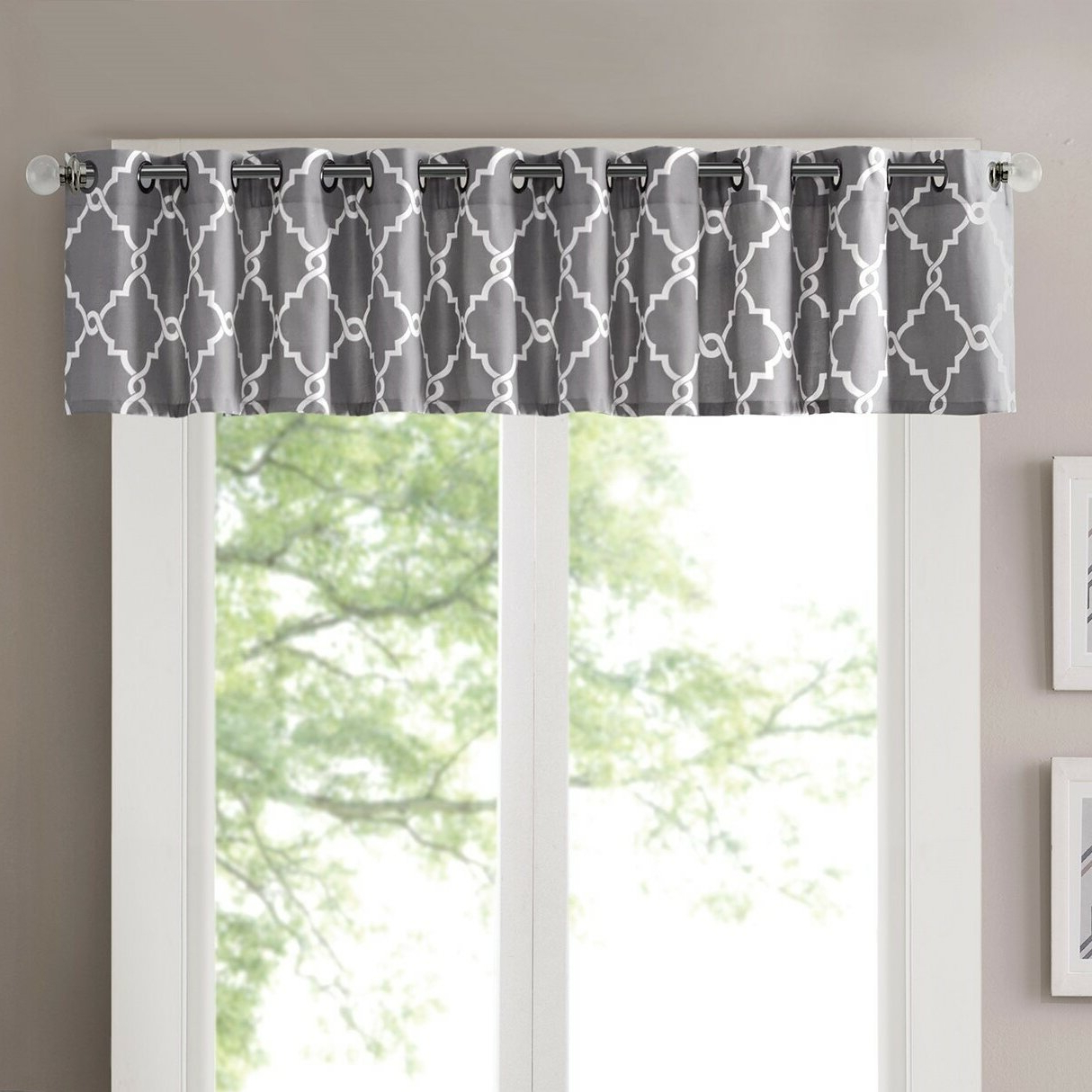 Most Current Luxury Light Filtering Straight Curtain Valances Inside Winnett Light Filtering 50 Curtain Valance (Gallery 8 of 20)