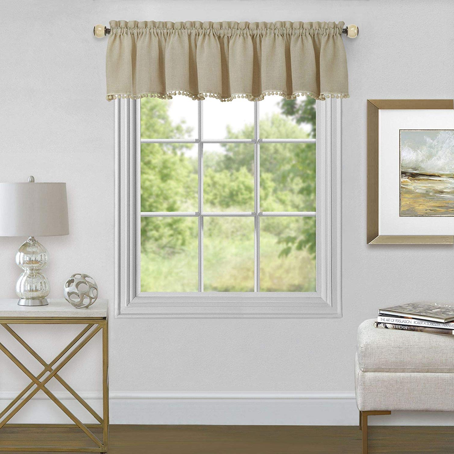 Most Current Wallace Window Kitchen Curtain Tiers Regarding Amazon: Ben & Jonah Primehome Collection Wallace Window (Gallery 19 of 20)