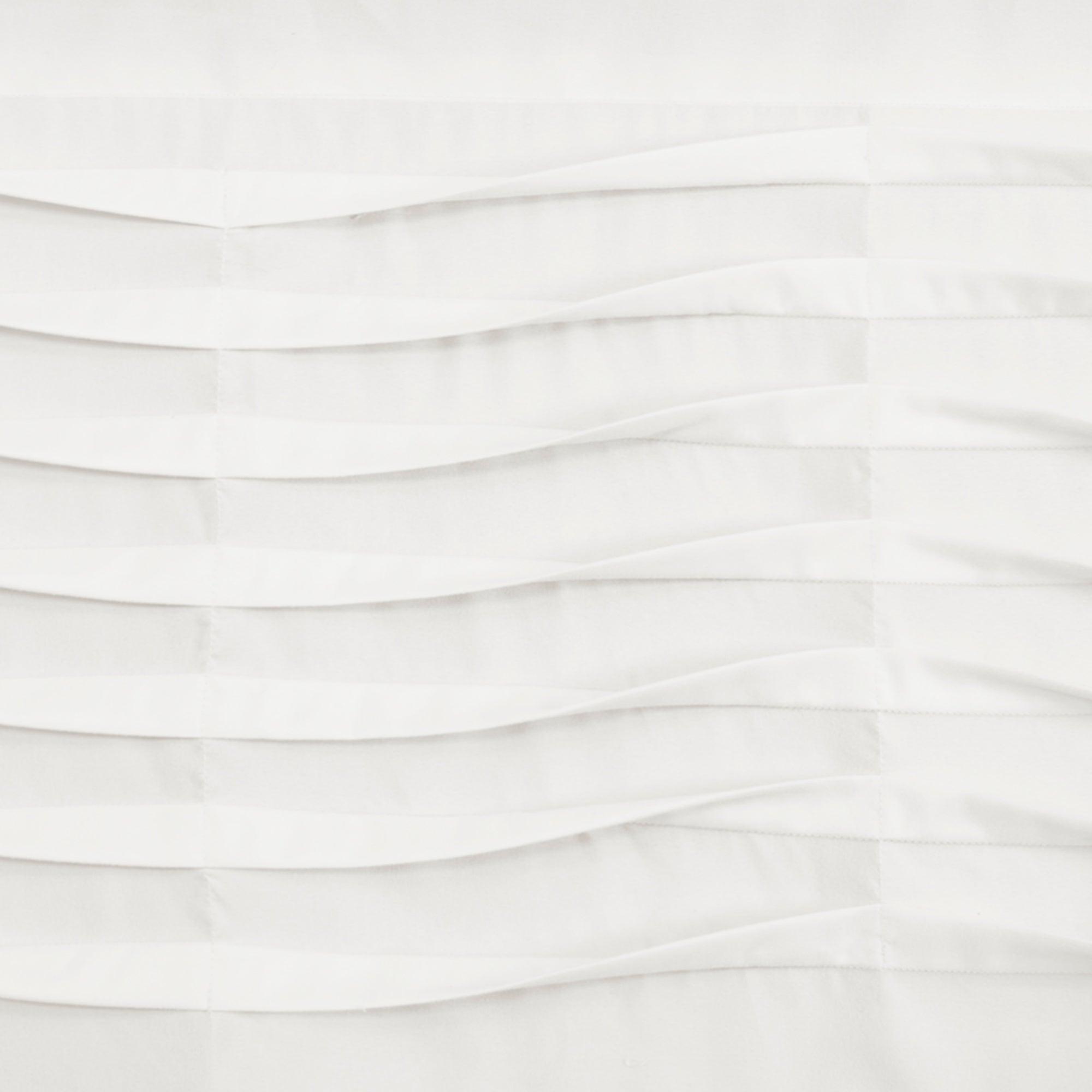 Most Popular Details About Porch & Den Kinnaman Wave Texture Window Curtain Valance Regarding Porch & Den Lorentz Silver 24 Inch Tier Pairs (Gallery 14 of 20)