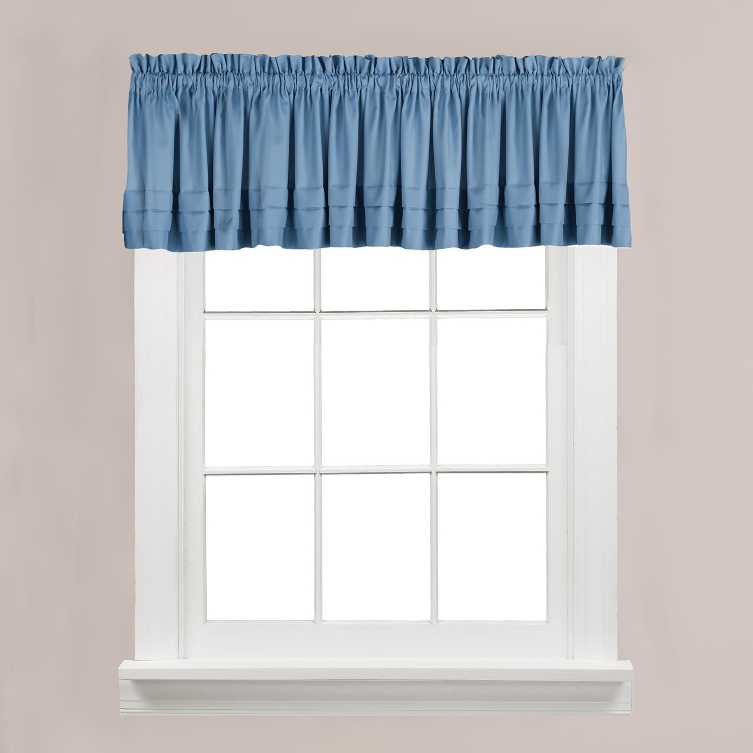 Most Recent Flinders Forge 24 Inch Tier Pairs In Navy For The Gray Barn Flinders Forge Valance In Smoke, Blue ( (View 10 of 14)
