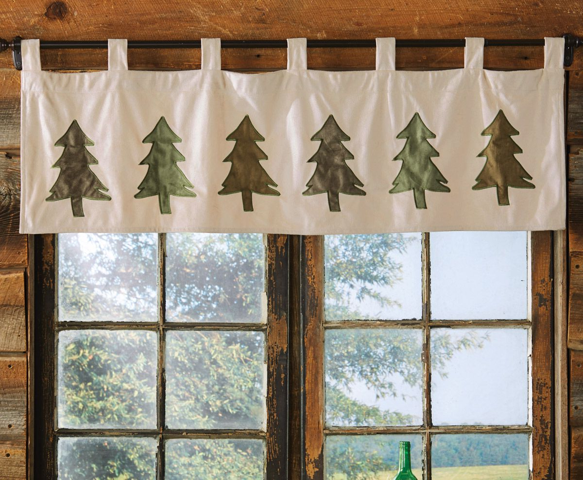 Most Up To Date Six Pine Trees Valance In (View 14 of 20)
