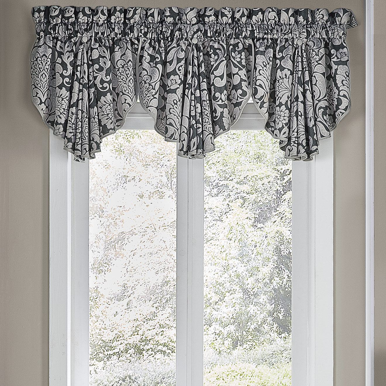 Featured Photo of Circle Curtain Valances