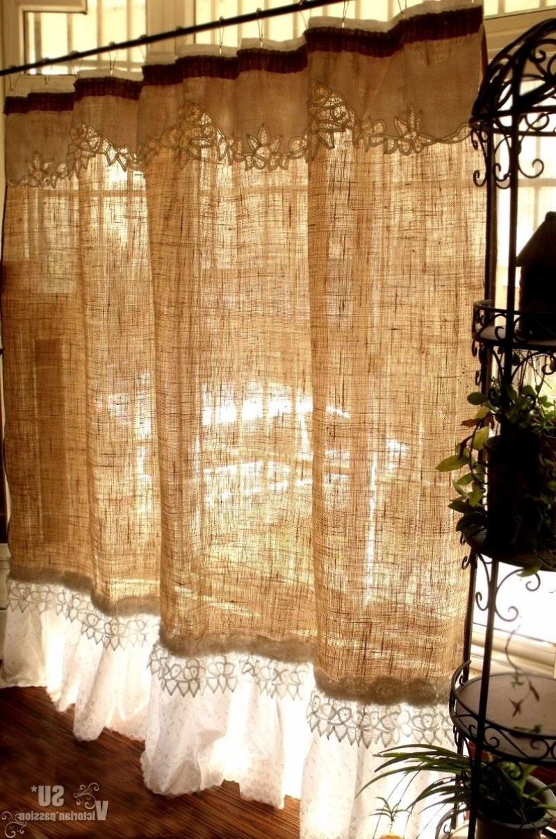 Newest Excellent Rustic Kitchen Curtains Valances Within Rustic Kitchen Curtains (View 11 of 20)