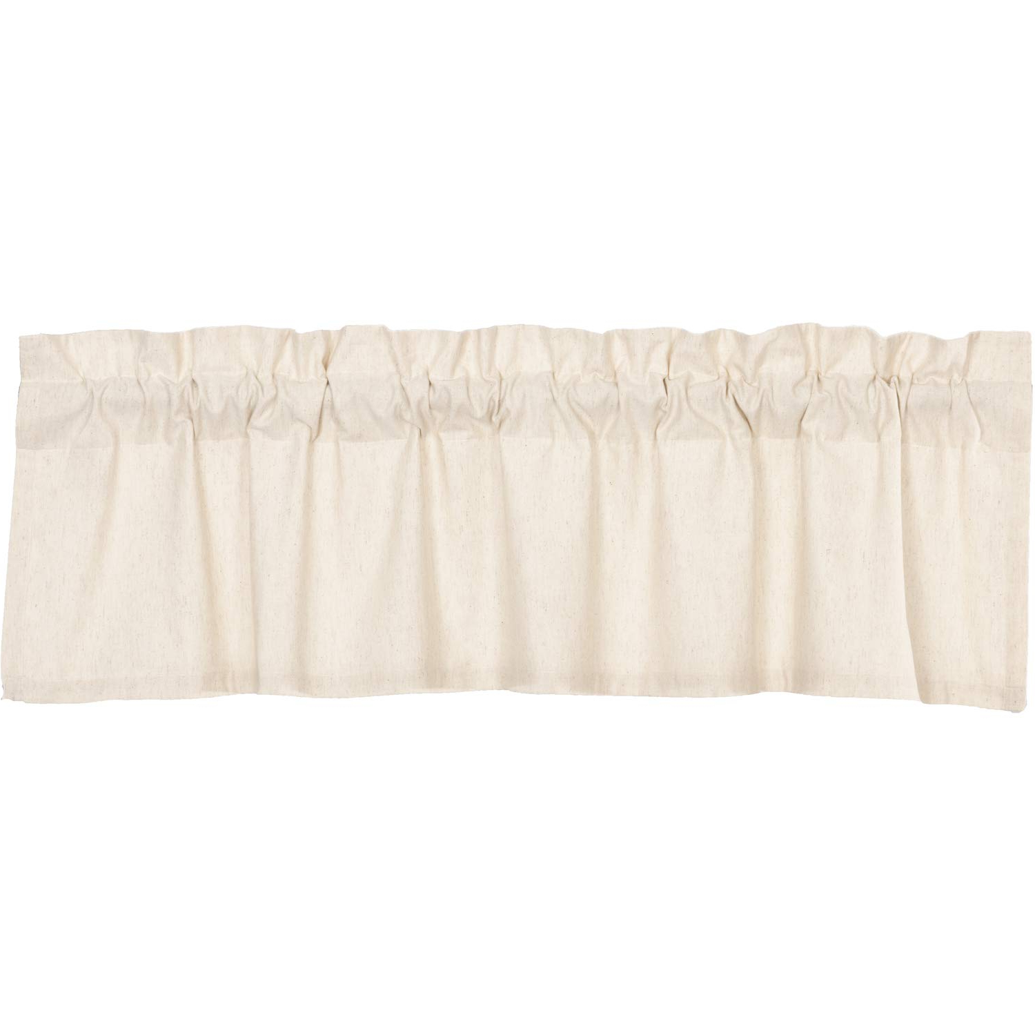 Newest Rod Pocket Cotton Linen Blend Solid Color Flax Kitchen Curtains For Amazon: Vhc Brands Farmhouse Kitchen Curtains Simple (View 6 of 20)