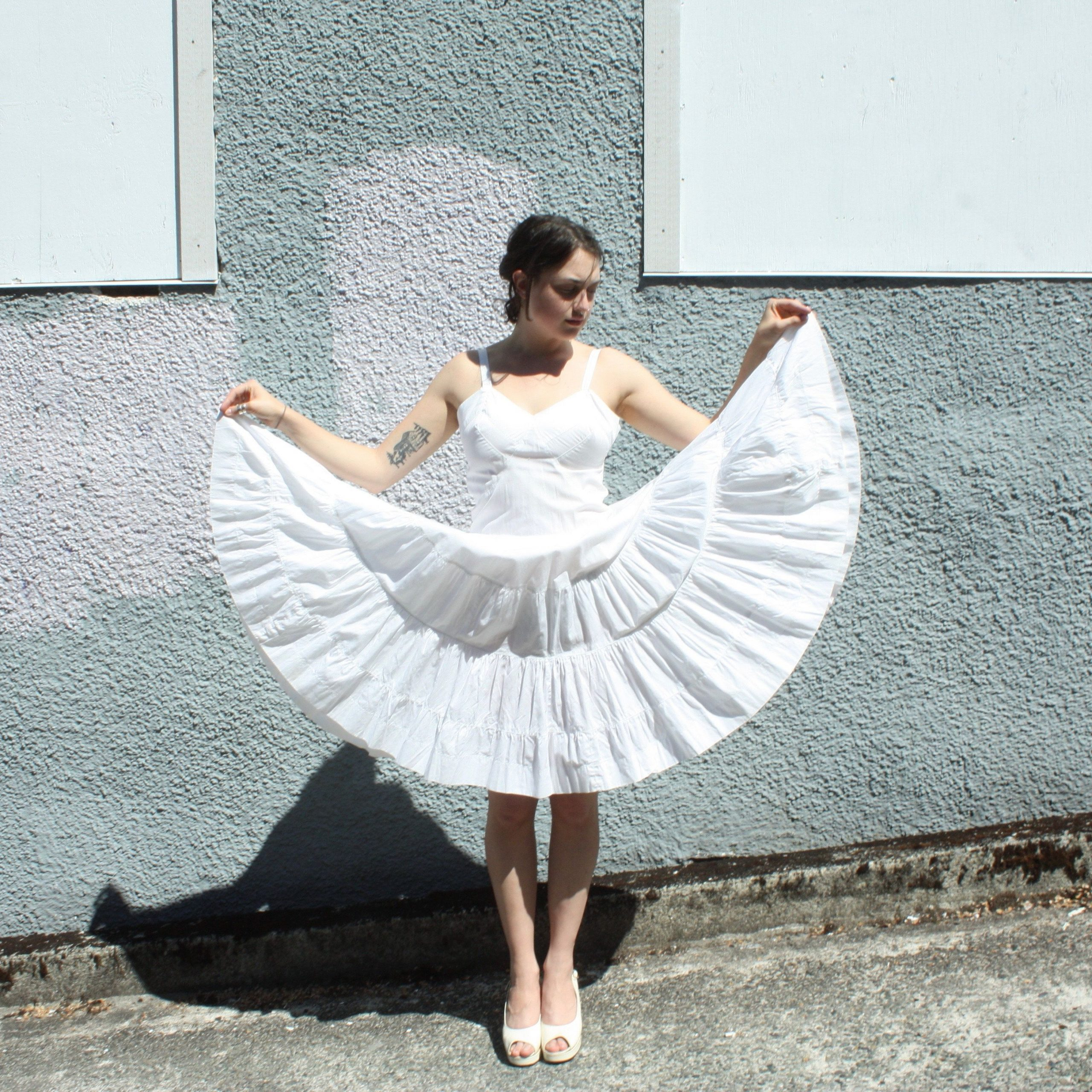 Pin On Fetish Regarding Best And Newest White Ruffled Sheer Petticoat Tier Pairs (View 13 of 20)
