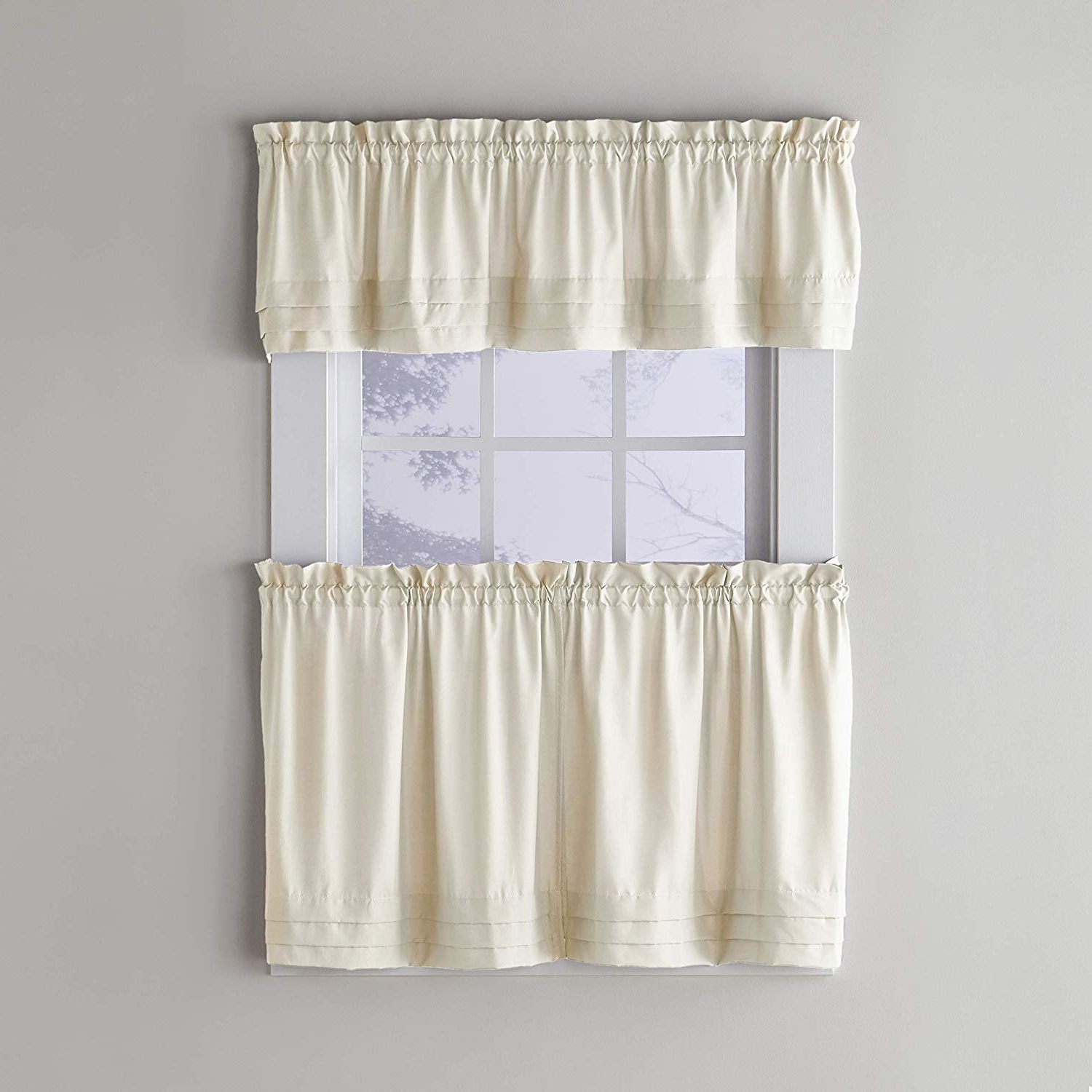 Featured Photo of Pleated Curtain Tiers