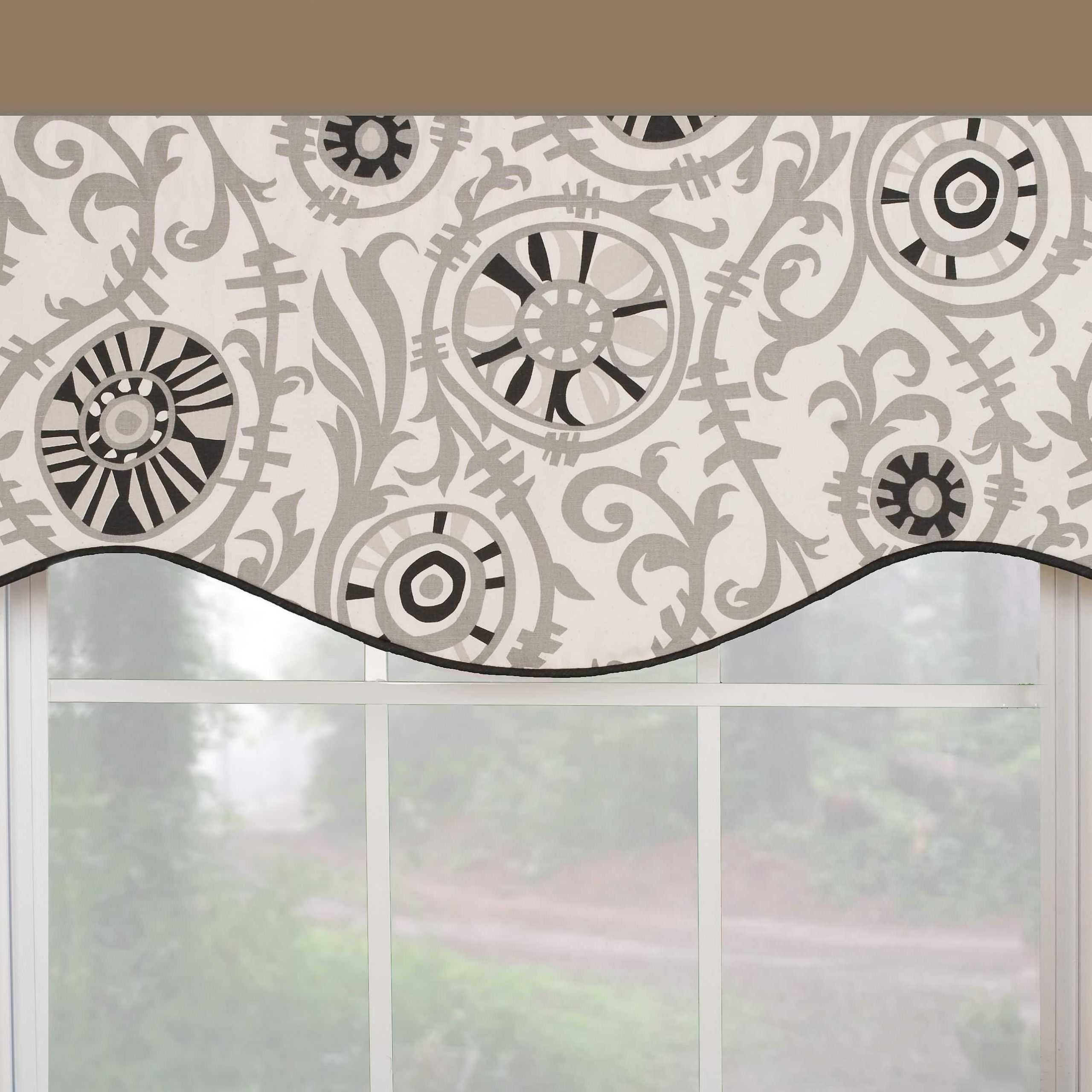 Popular Fascinating Window Valance White Knit Lace Bird Motif Pertaining To White Knit Lace Bird Motif Window Curtain Tiers (View 10 of 20)