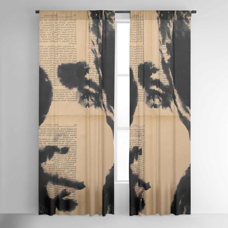 Popular Tinibiblu Blackout Curtainlayla Oz With Regard To La Vida Window Curtains (View 15 of 20)