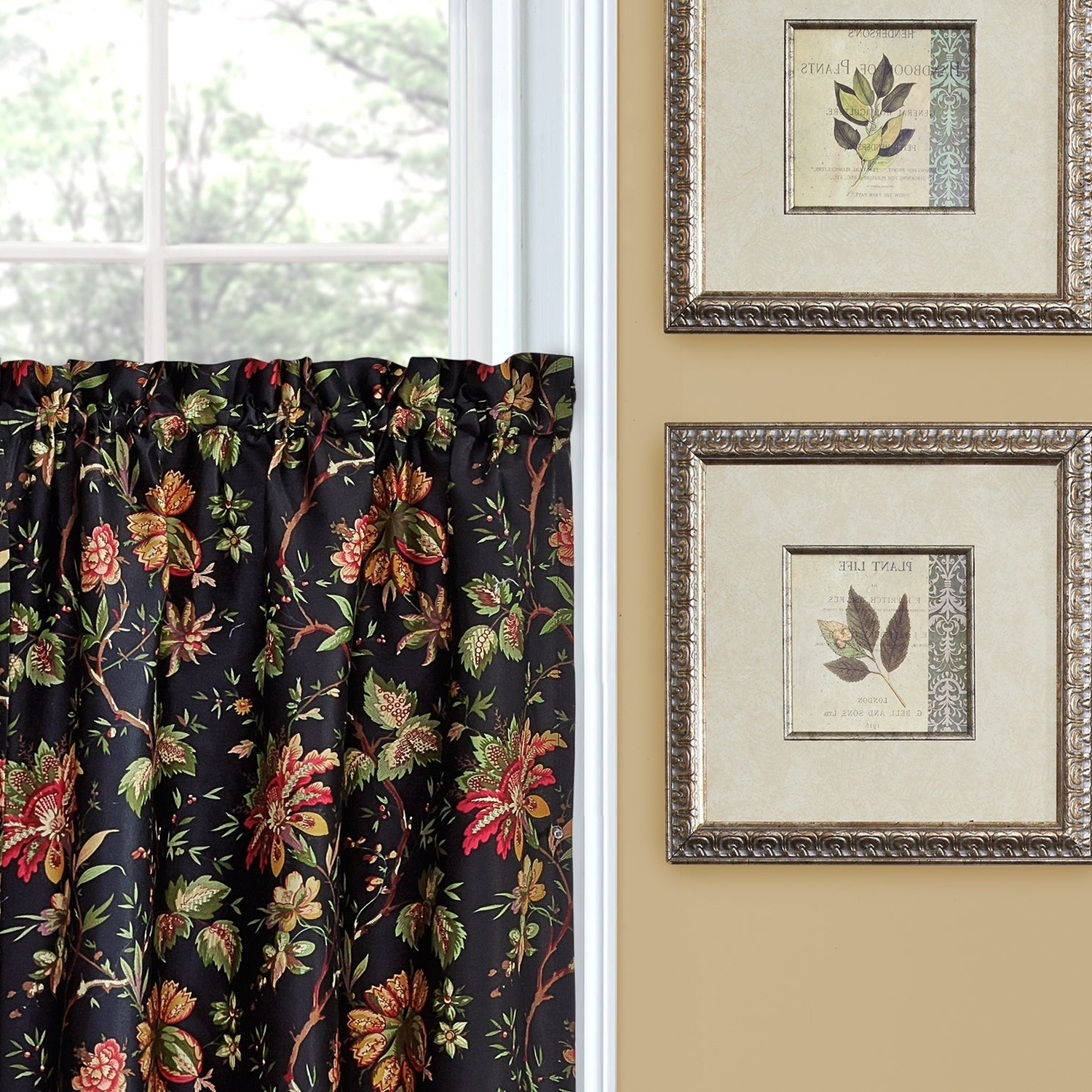 Popular Waverly Felicite Curtain Tiers Intended For Waverly Felicite Tier Pair – 60x (View 4 of 20)