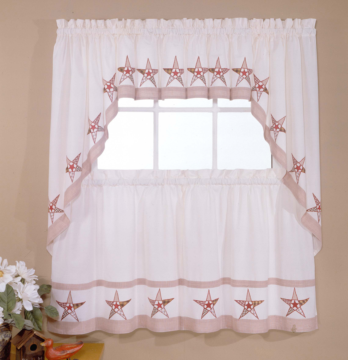 Preferred Classic Kitchen Curtain Sets In Designer Kitchen Curtains – Thecurtainshop (View 9 of 20)