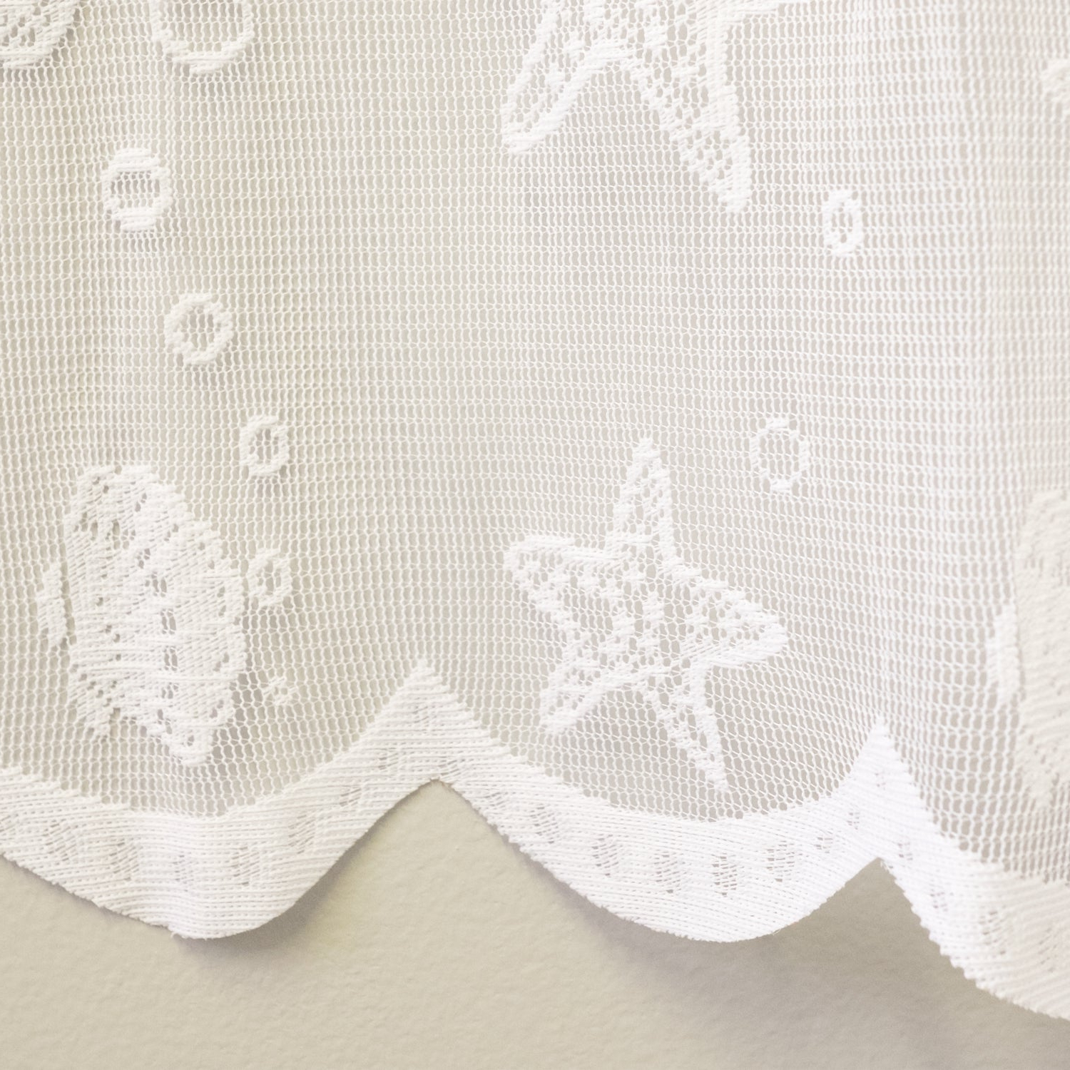 Preferred Marine Life Motif Knitted Lace Window Curtain Pieces With Marine Life Motif Knitted Lace Window Curtain Panel (View 7 of 20)