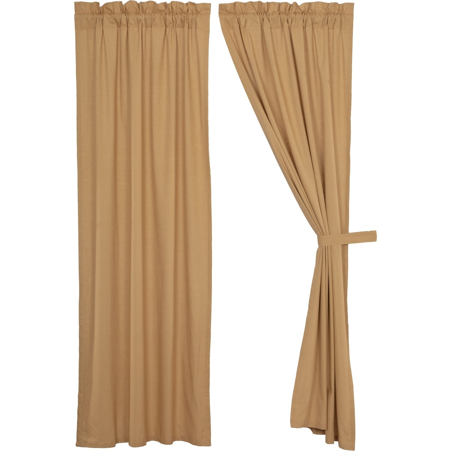 Preferred Simple Life Flax Tier Pairs With Regard To Details About Farmhouse Curtains Vhc Simple Life Flax Panel Pair Rod (View 10 of 20)