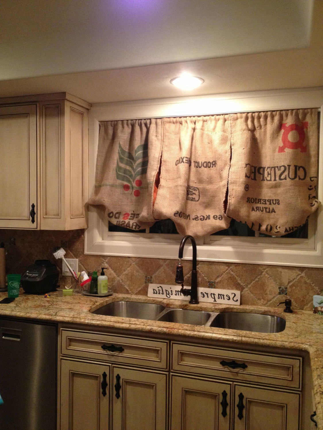 Red Rustic Kitchen Curtains For Well Liked Remarkable Modern Kitchen Valance Surprising Curtains Ideas (Gallery 17 of 20)