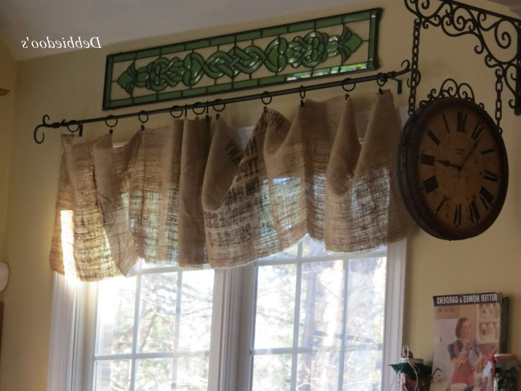 Red Rustic Kitchen Curtains With 2020 Christmas Decor In A Country French Rustic Kitchen (Gallery 6 of 20)