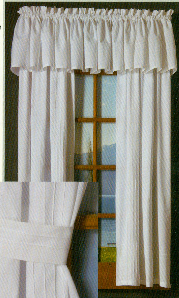 Rod Pocket Kitchen Tiers With Regard To 2021 Pintuck Rod Pocket Curtains (View 13 of 20)
