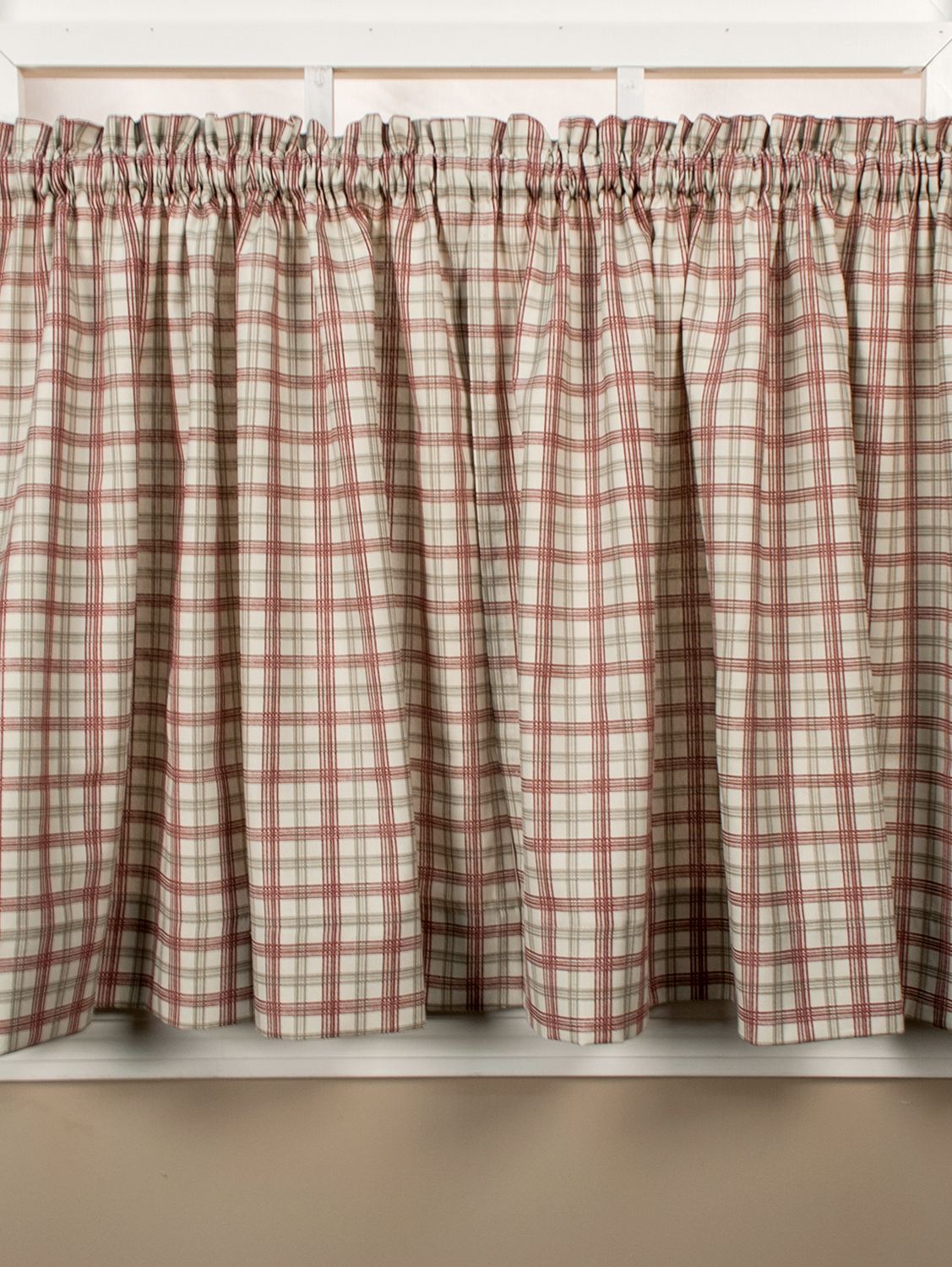 Rustic Bedding & Rugs Pertaining To Most Recent Pleated Curtain Tiers (Gallery 16 of 20)