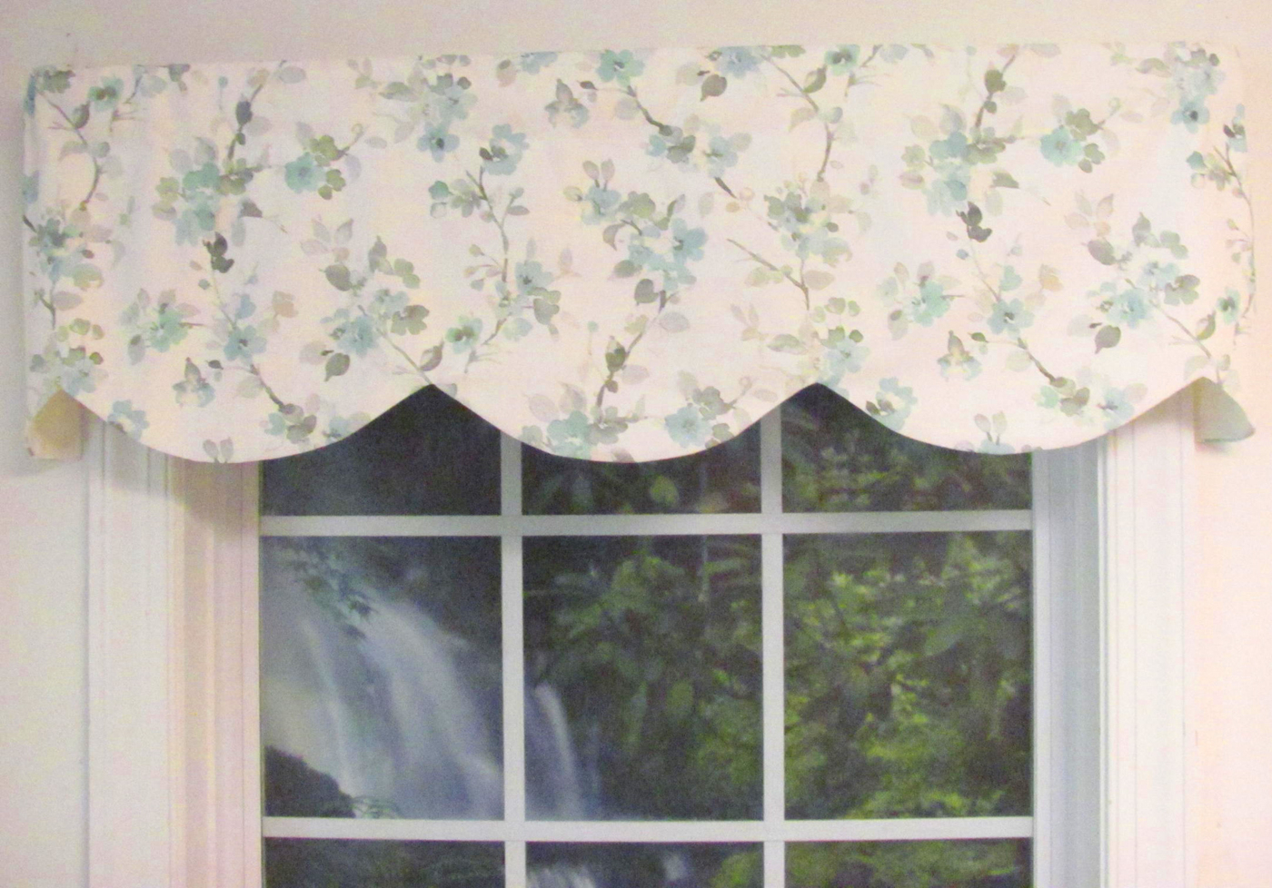 Tailored Toppers With Valances Pertaining To Famous Cornice Valance – Scalloped – Fully Lined – Custom Select (View 3 of 20)