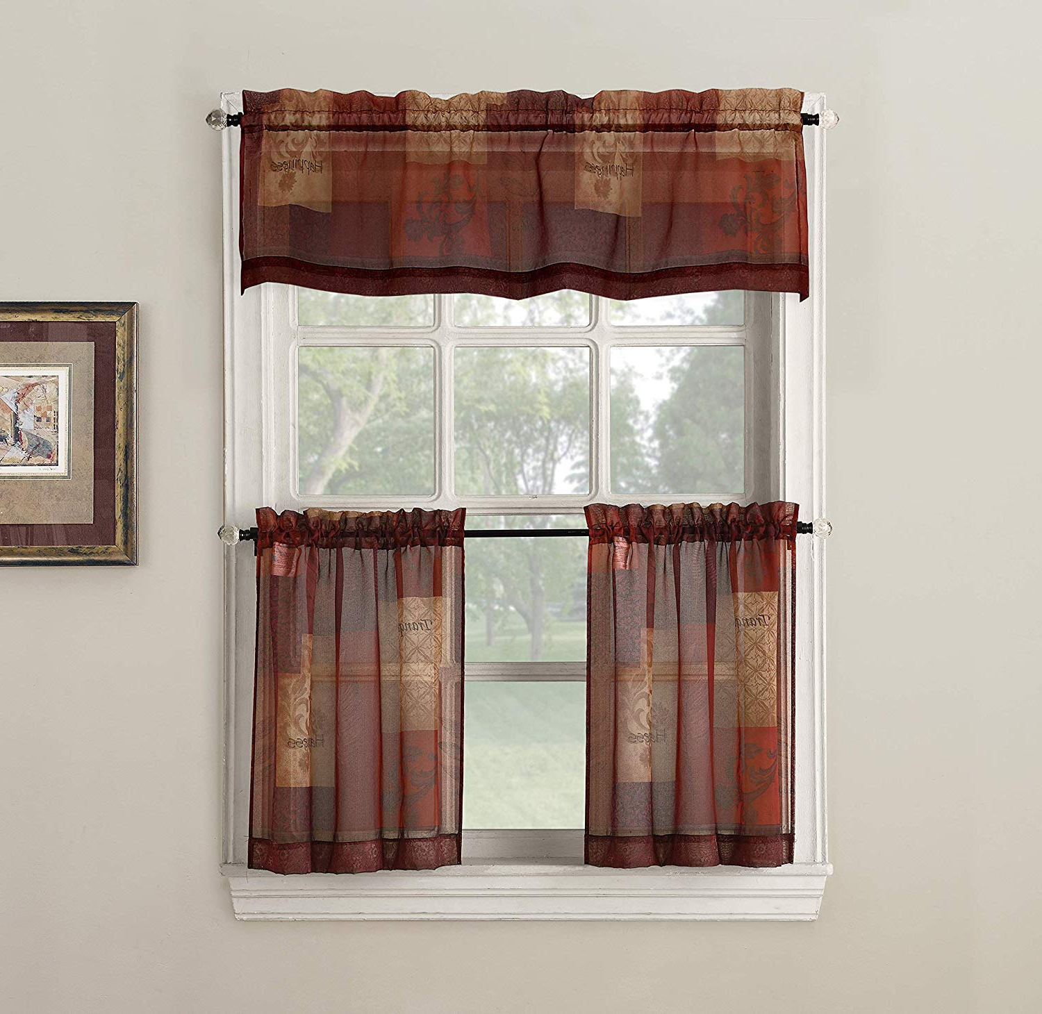 Tranquility Curtain Tier Pairs Inside Widely Used No (View 16 of 20)