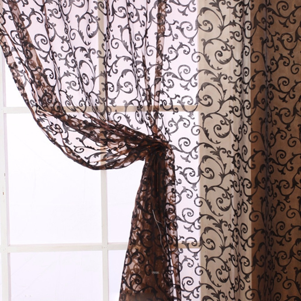 [%us $2.35 39% Off|2018 Modern Style Window Curtains Living Room Floral Tulle Curtain Door Balcony Lifting Sheer Valance In Curtains From Home & Garden Inside Famous Floral Pattern Window Valances|floral Pattern Window Valances Pertaining To Most Up To Date Us $2.35 39% Off|2018 Modern Style Window Curtains Living Room Floral Tulle Curtain Door Balcony Lifting Sheer Valance In Curtains From Home & Garden|fashionable Floral Pattern Window Valances Inside Us $2.35 39% Off|2018 Modern Style Window Curtains Living Room Floral Tulle Curtain Door Balcony Lifting Sheer Valance In Curtains From Home & Garden|newest Us $ (View 20 of 20)